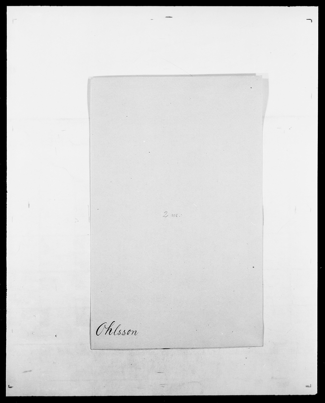SAO, Delgobe, Charles Antoine - samling, D/Da/L0029: Obel - Oxholm, s. 70