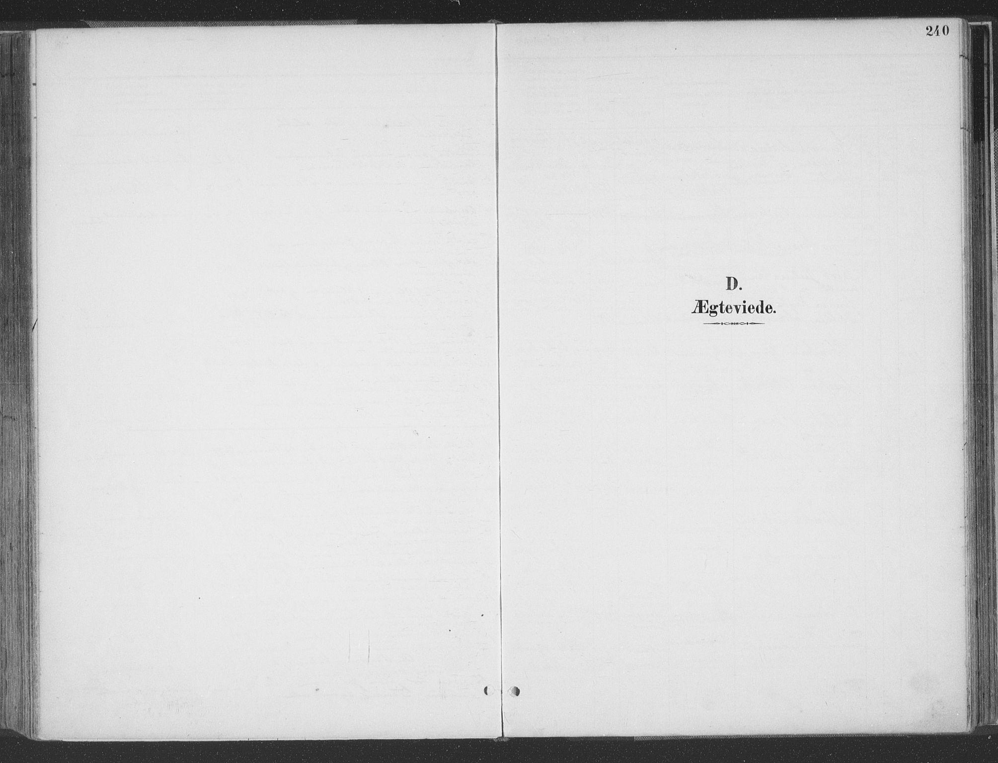 SAK, Høvåg sokneprestkontor, F/Fa/L0006: Ministerialbok nr. A 6, 1894-1923, s. 240