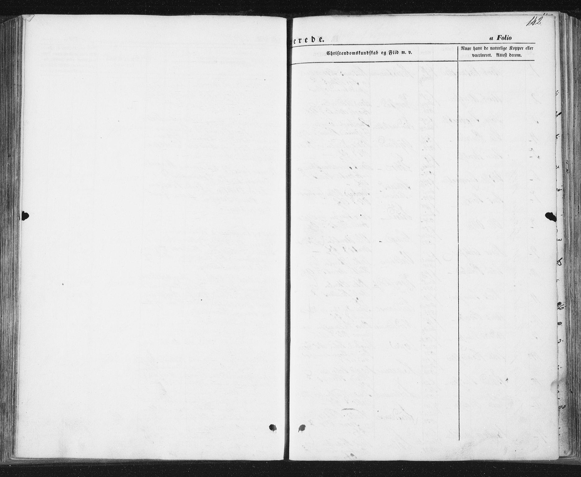 SAT, Ministerialprotokoller, klokkerbøker og fødselsregistre - Sør-Trøndelag, 692/L1103: Ministerialbok nr. 692A03, 1849-1870, s. 142