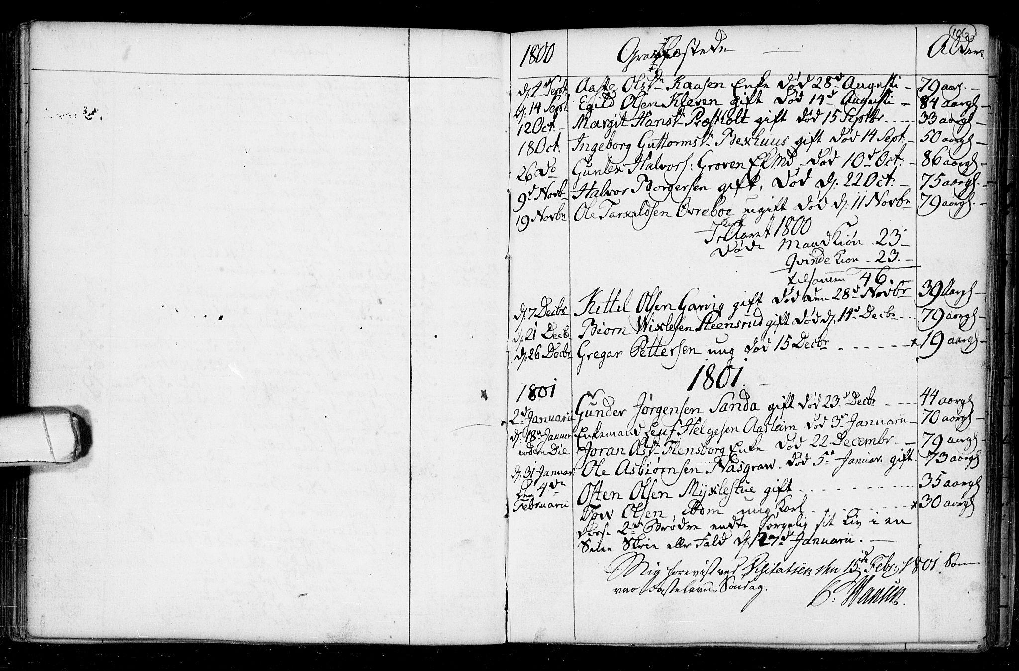 SAKO, Seljord kirkebøker, F/Fa/L0008: Ministerialbok nr. I 8, 1755-1814, s. 106