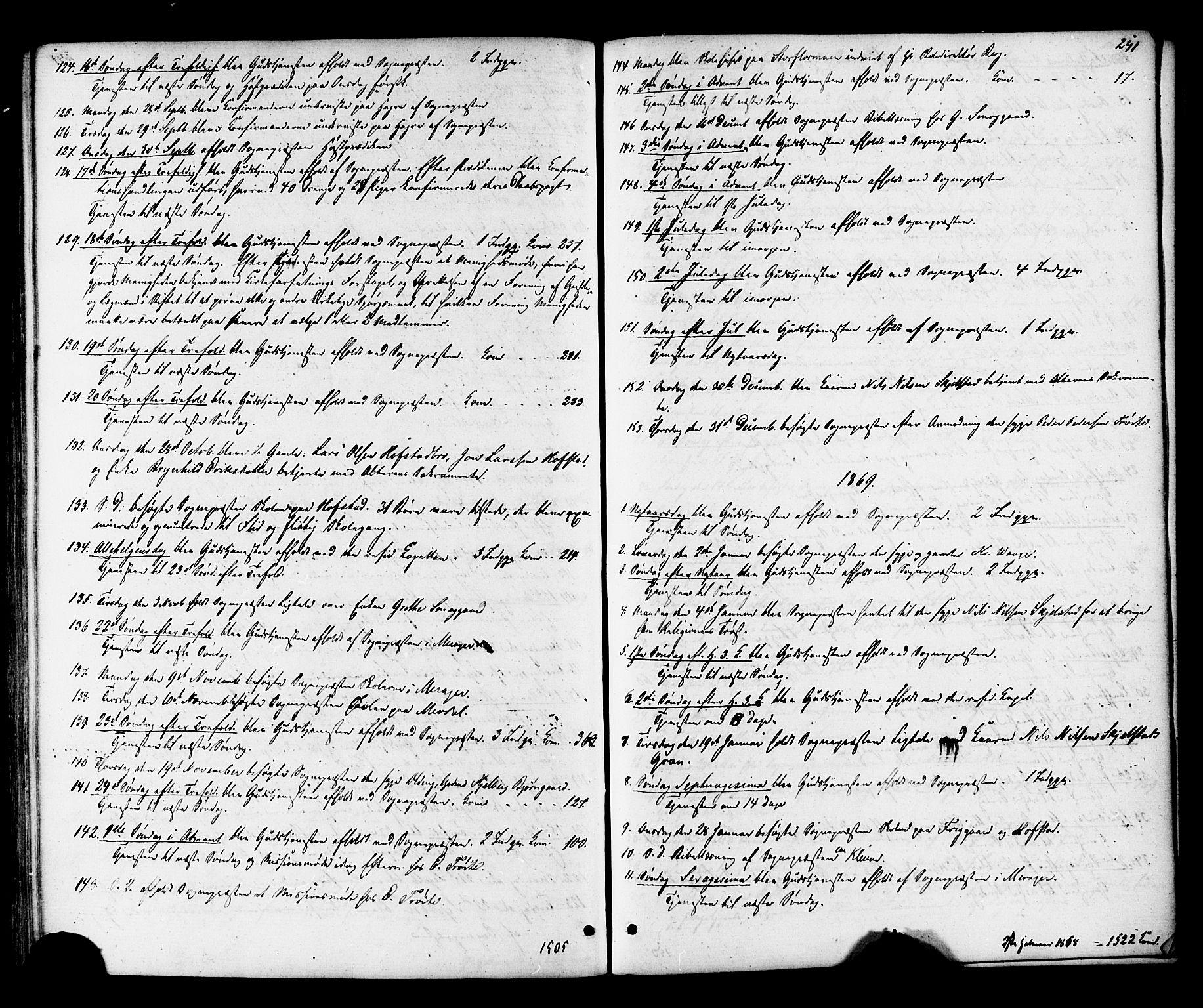 SAT, Ministerialprotokoller, klokkerbøker og fødselsregistre - Nord-Trøndelag, 703/L0029: Ministerialbok nr. 703A02, 1863-1879, s. 241