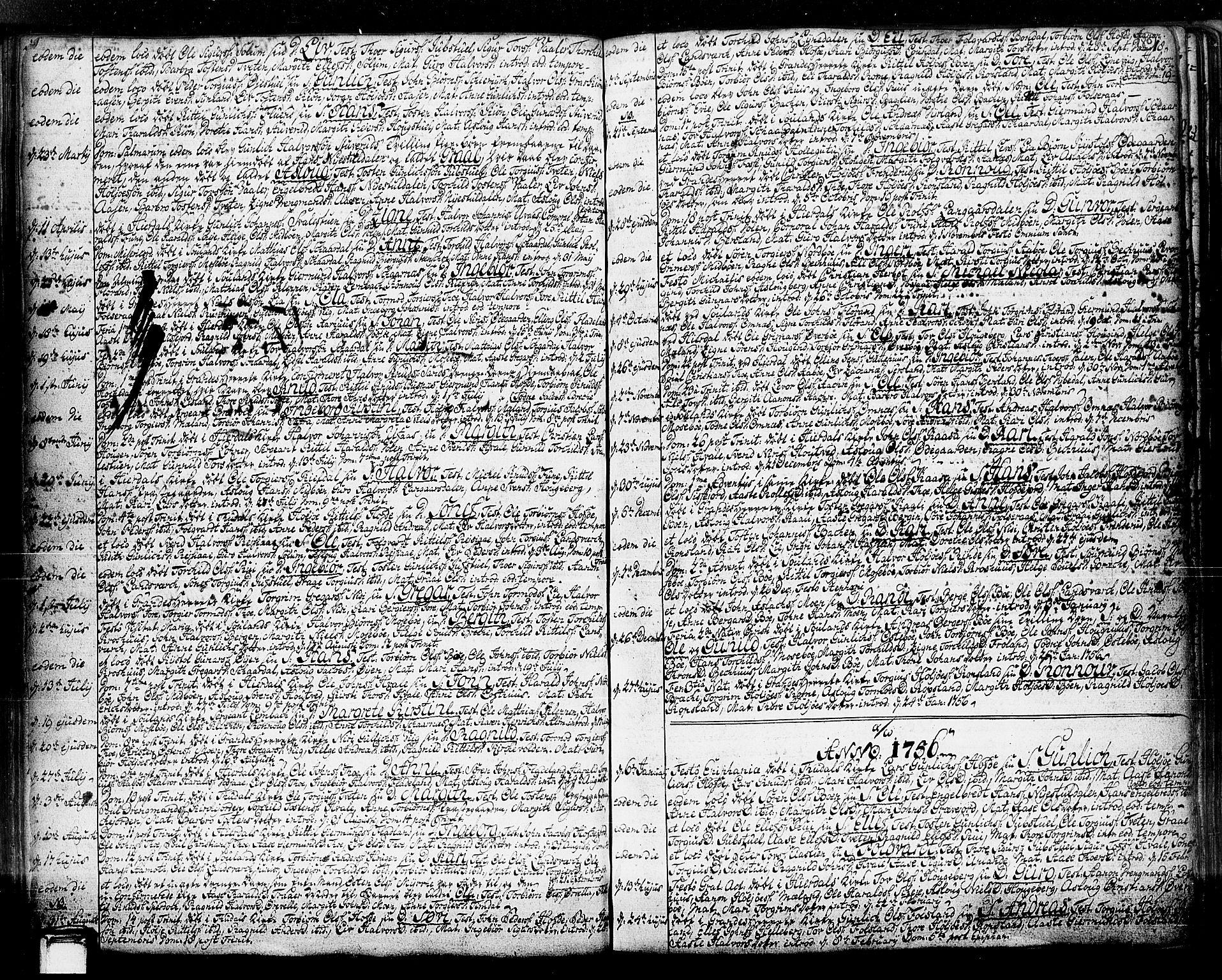 SAKO, Hjartdal kirkebøker, F/Fa/L0003: Ministerialbok nr. I 3, 1727-1775, s. 80