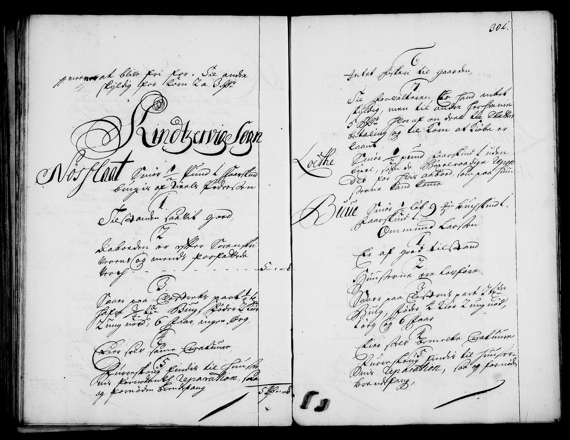 RA, Rentekammeret inntil 1814, Realistisk ordnet avdeling, On/L0003: [Jj 4]: Kommisjonsforretning over Vilhelm Hanssøns forpaktning av Halsnøy klosters gods, 1712-1722, s. 300b-301a