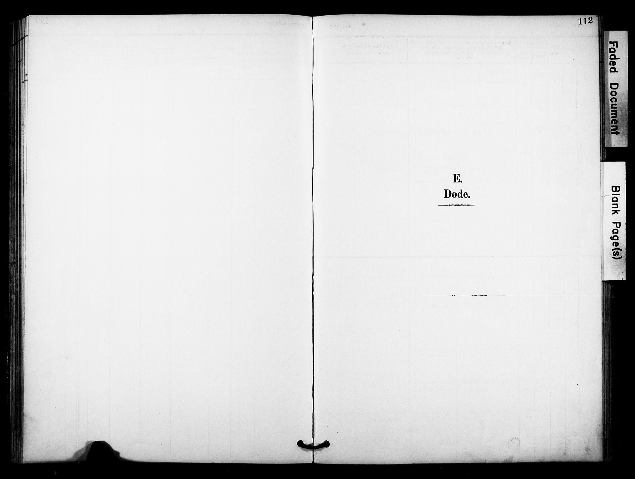 SAKO, Bø kirkebøker, F/Fa/L0011: Ministerialbok nr. 11, 1892-1900, s. 112