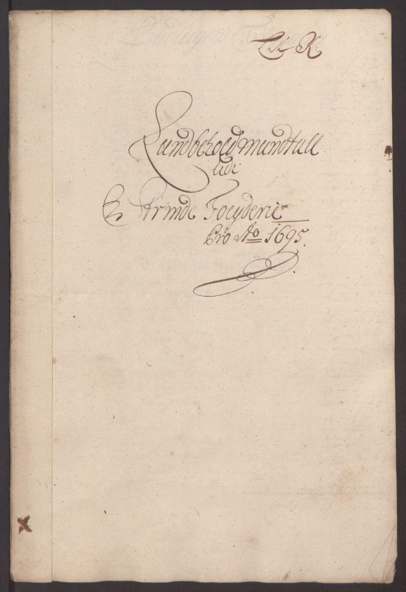 RA, Rentekammeret inntil 1814, Reviderte regnskaper, Fogderegnskap, R61/L4105: Fogderegnskap Strinda og Selbu, 1695, s. 76