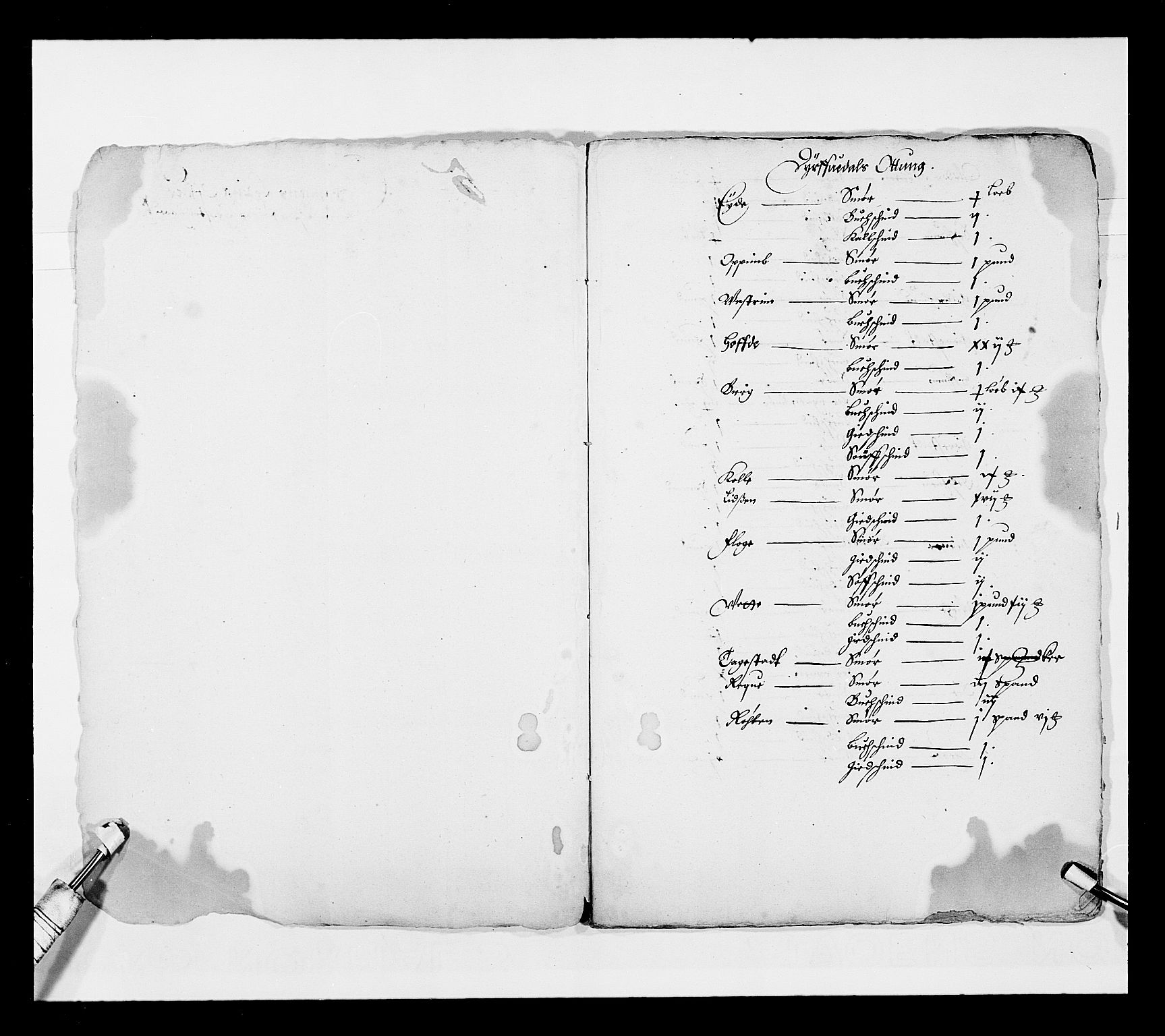 RA, Stattholderembetet 1572-1771, Ek/L0025: Jordebøker 1633-1658:, 1645-1646, s. 50