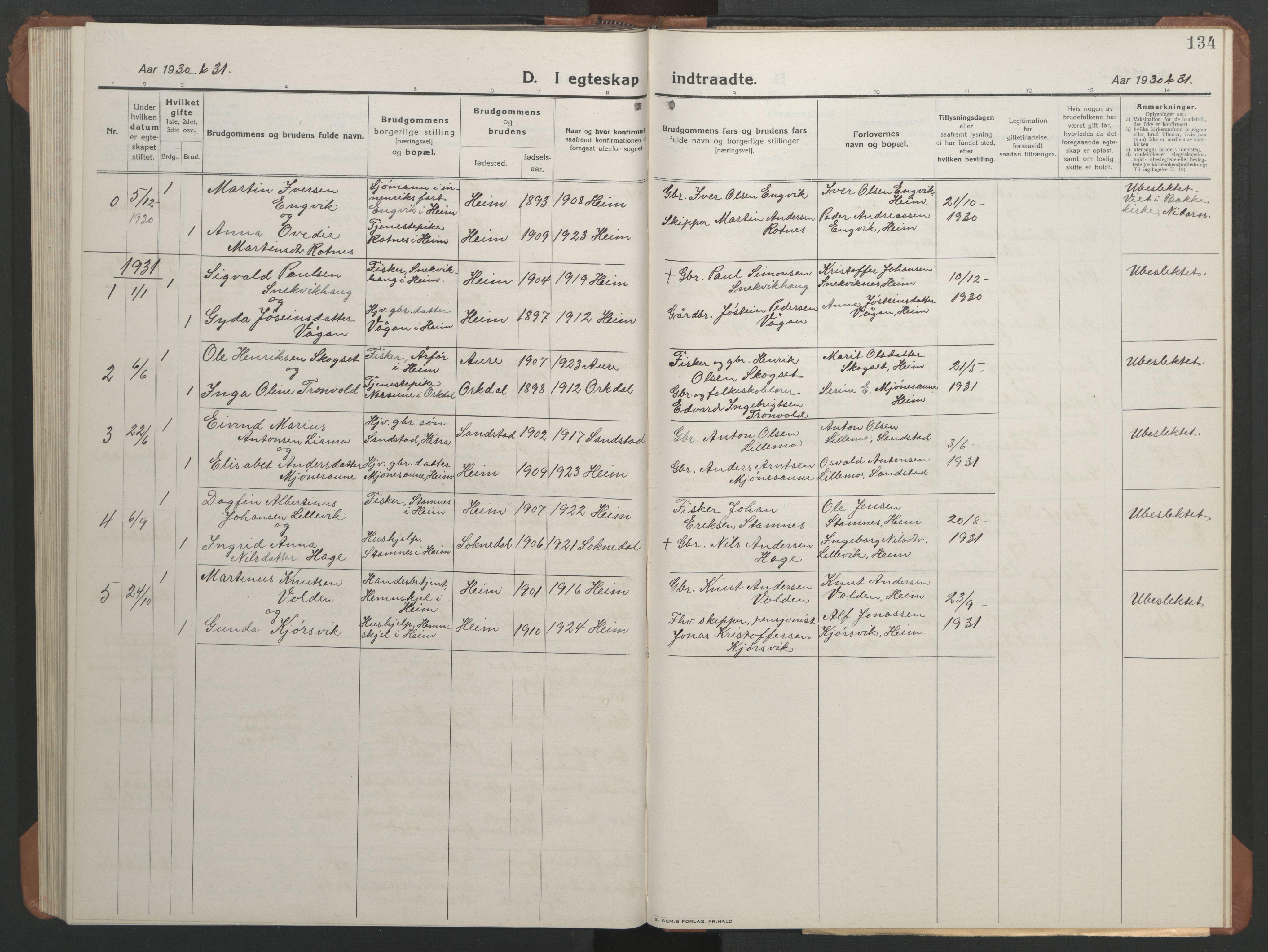 SAT, Ministerialprotokoller, klokkerbøker og fødselsregistre - Sør-Trøndelag, 633/L0521: Klokkerbok nr. 633C03, 1921-1941, s. 126