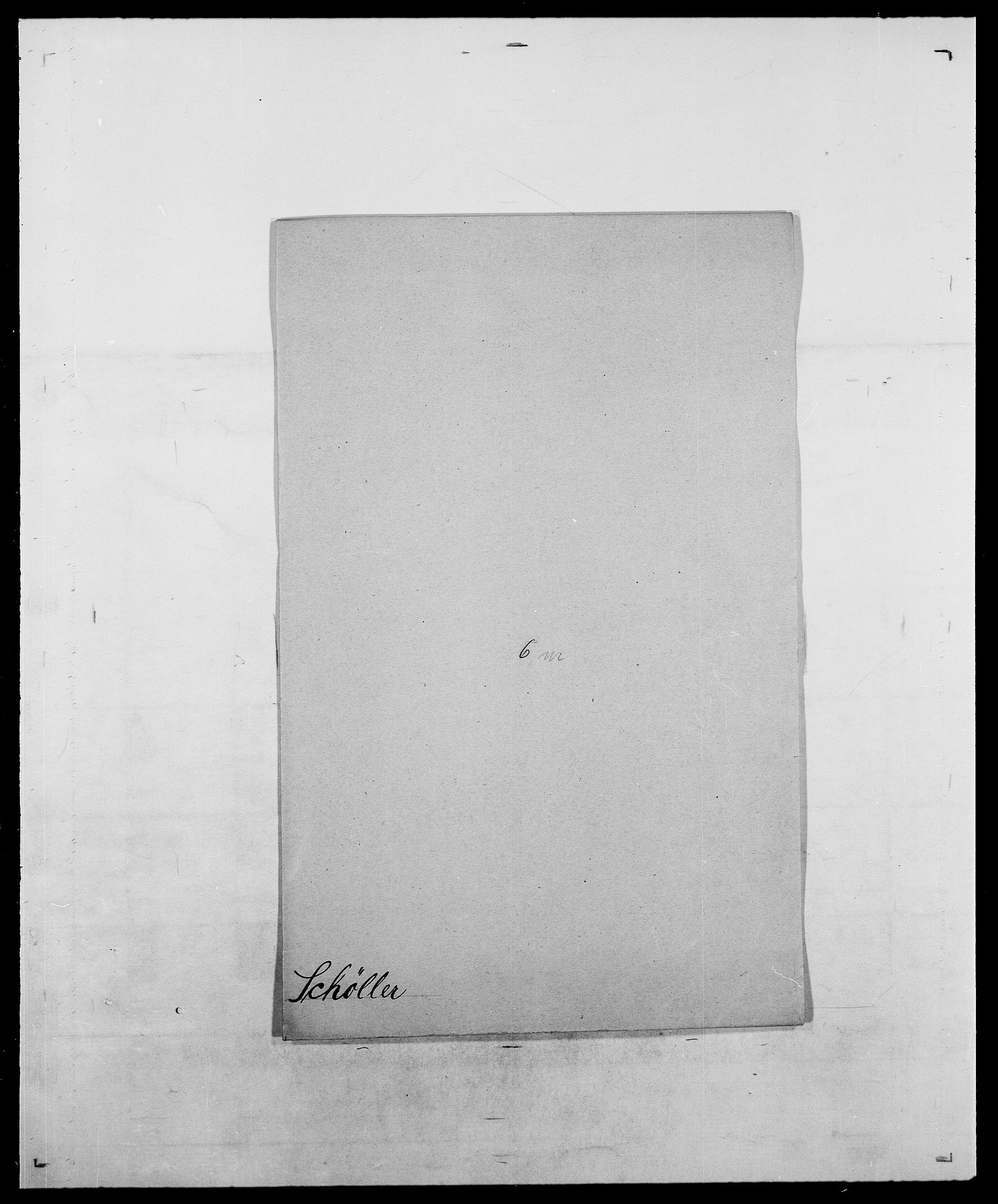 SAO, Delgobe, Charles Antoine - samling, D/Da/L0035: Schnabel - sjetman, s. 454