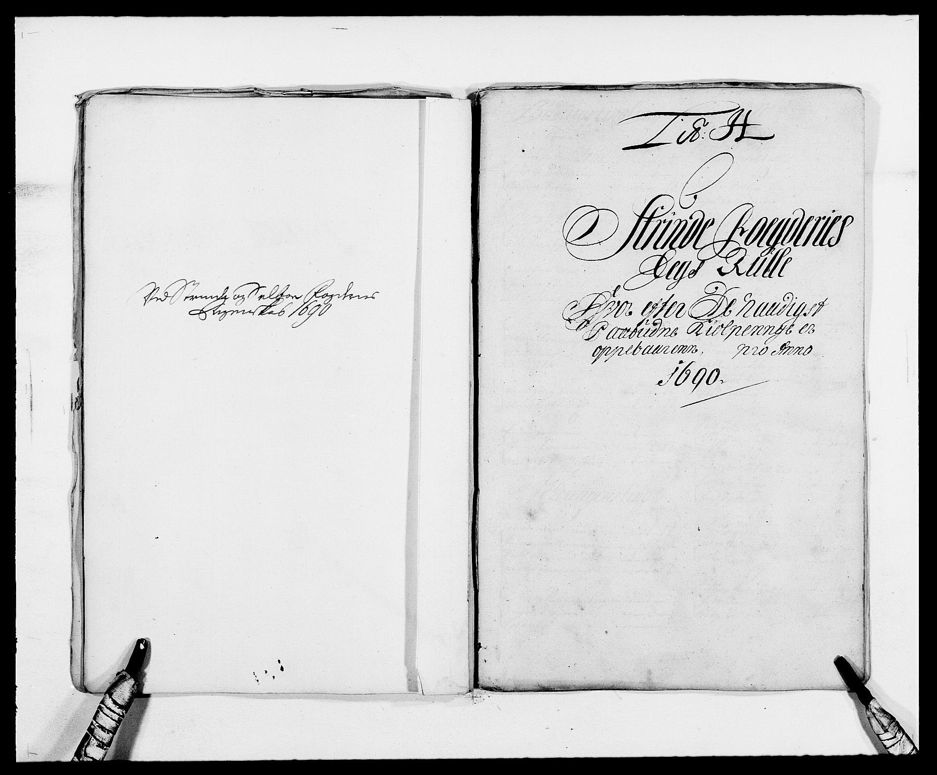 RA, Rentekammeret inntil 1814, Reviderte regnskaper, Fogderegnskap, R61/L4102: Fogderegnskap Strinda og Selbu, 1689-1690, s. 199