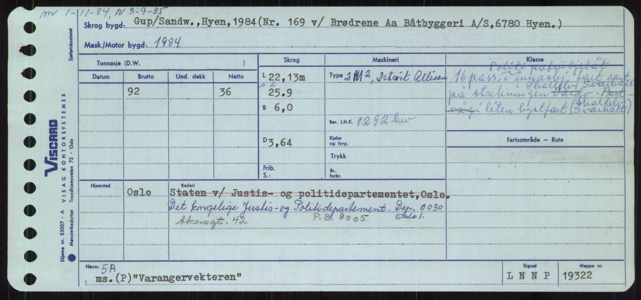 RA, Sjøfartsdirektoratet med forløpere, Skipsmålingen, H/Ha/L0006: Fartøy, Sver-Å, s. 145