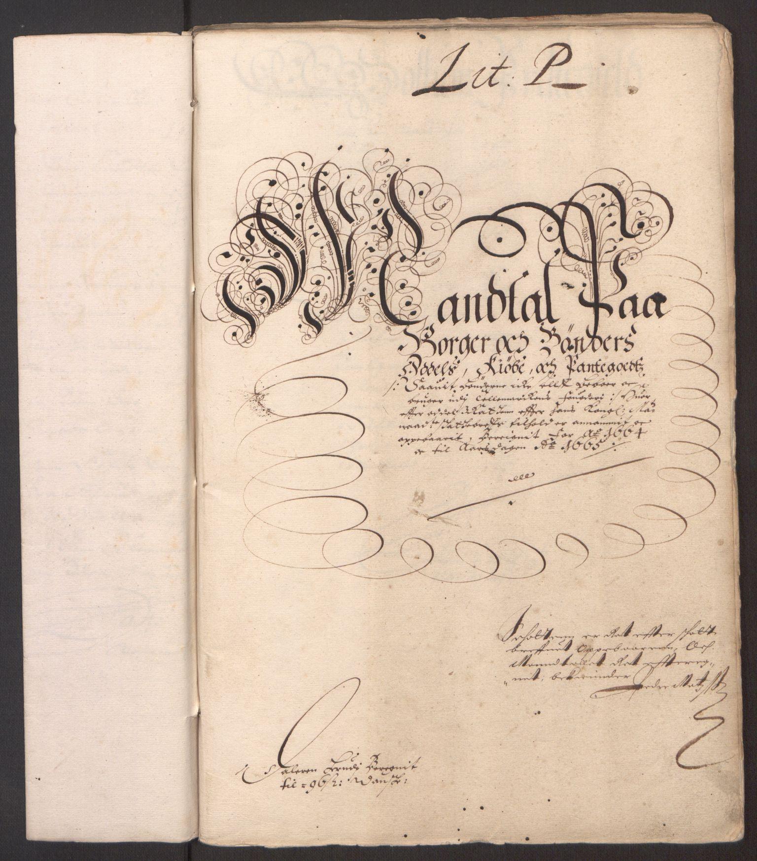 RA, Rentekammeret inntil 1814, Reviderte regnskaper, Fogderegnskap, R35/L2055: Fogderegnskap Øvre og Nedre Telemark, 1664, s. 106