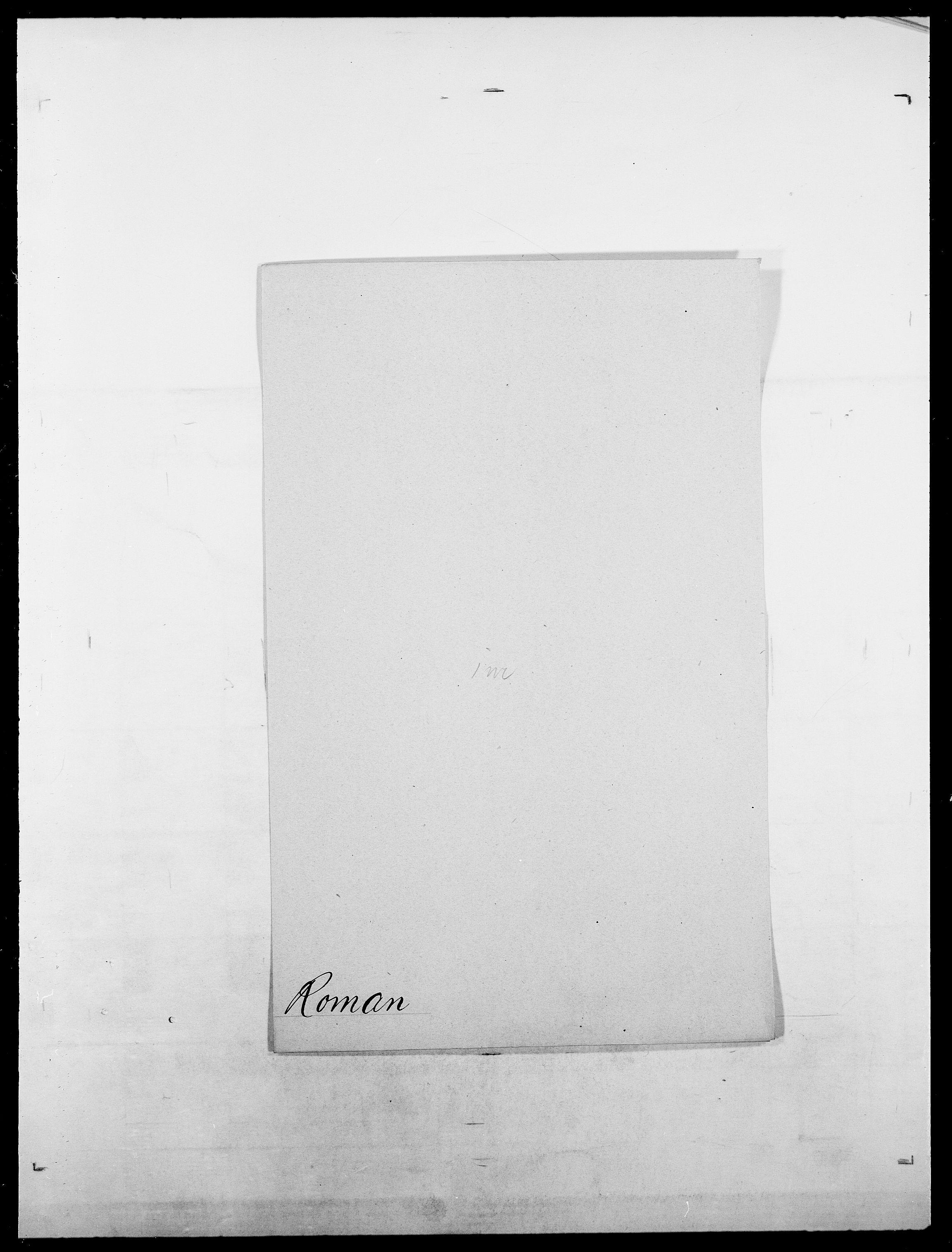 SAO, Delgobe, Charles Antoine - samling, D/Da/L0033: Roald - Røyem, s. 163