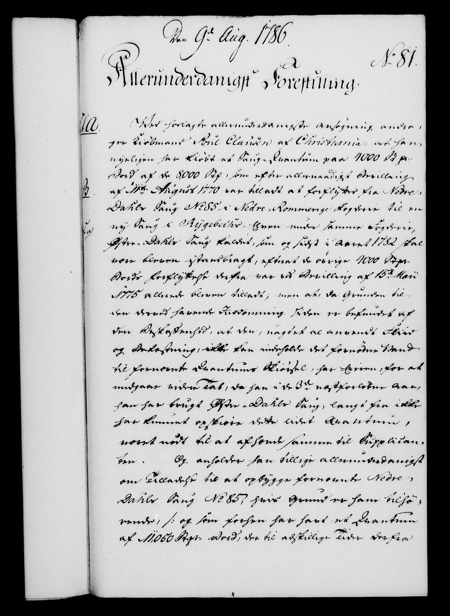 RA, Rentekammeret, Kammerkanselliet, G/Gf/Gfa/L0068: Norsk relasjons- og resolusjonsprotokoll (merket RK 52.68), 1786, s. 514