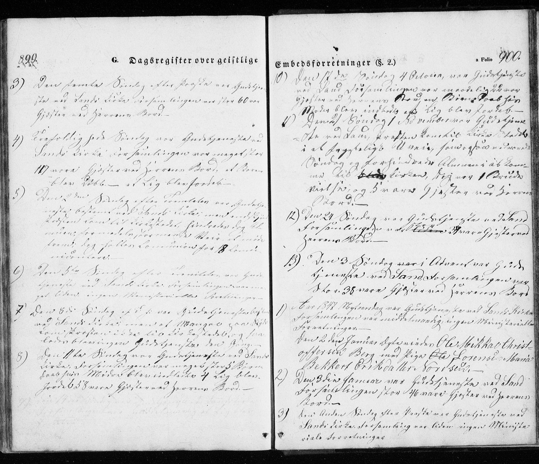 SATØ, Trondenes sokneprestkontor, H/Ha/L0010kirke: Ministerialbok nr. 10, 1840-1865, s. 899-900