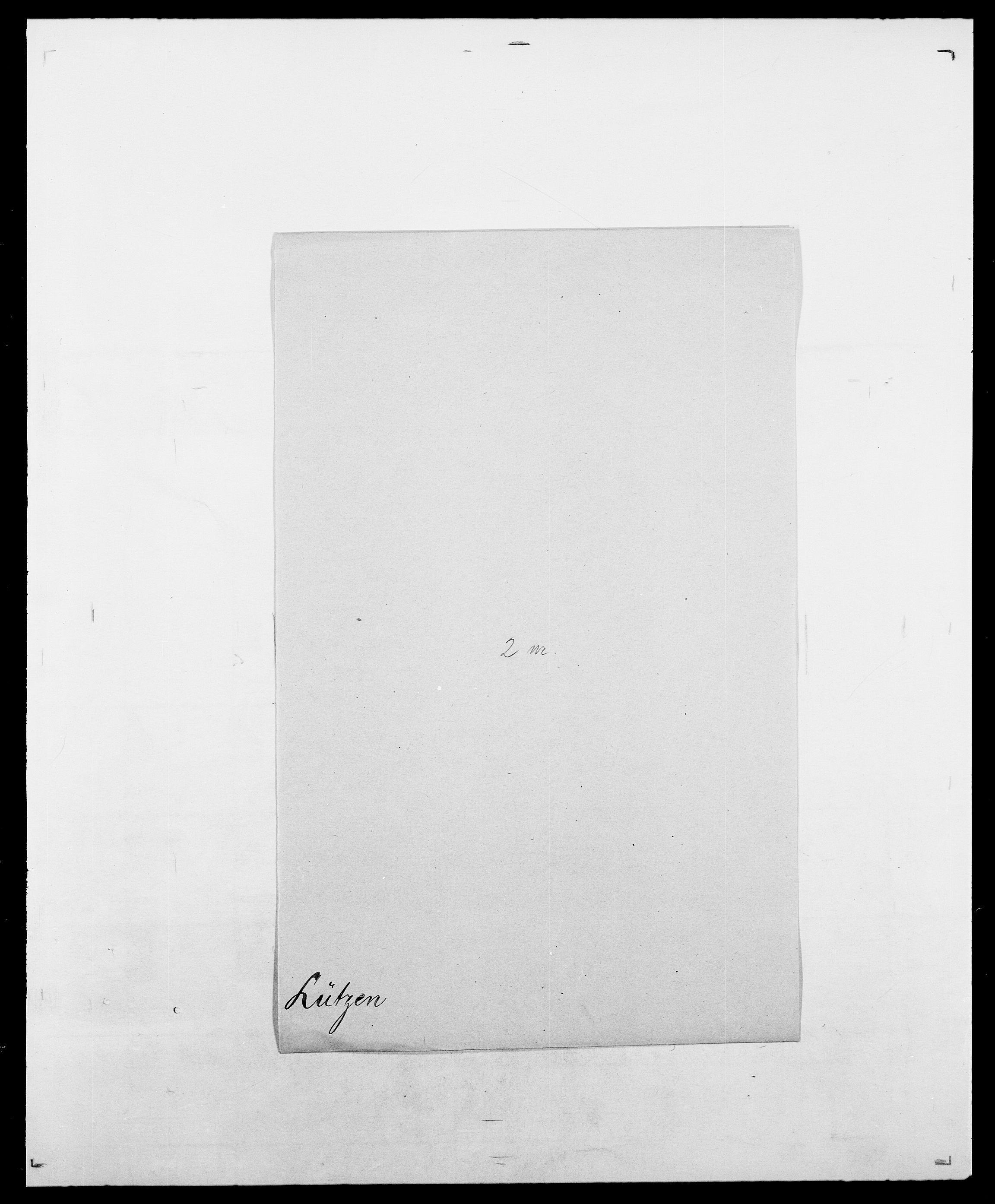 SAO, Delgobe, Charles Antoine - samling, D/Da/L0024: Lobech - Lærum, s. 812