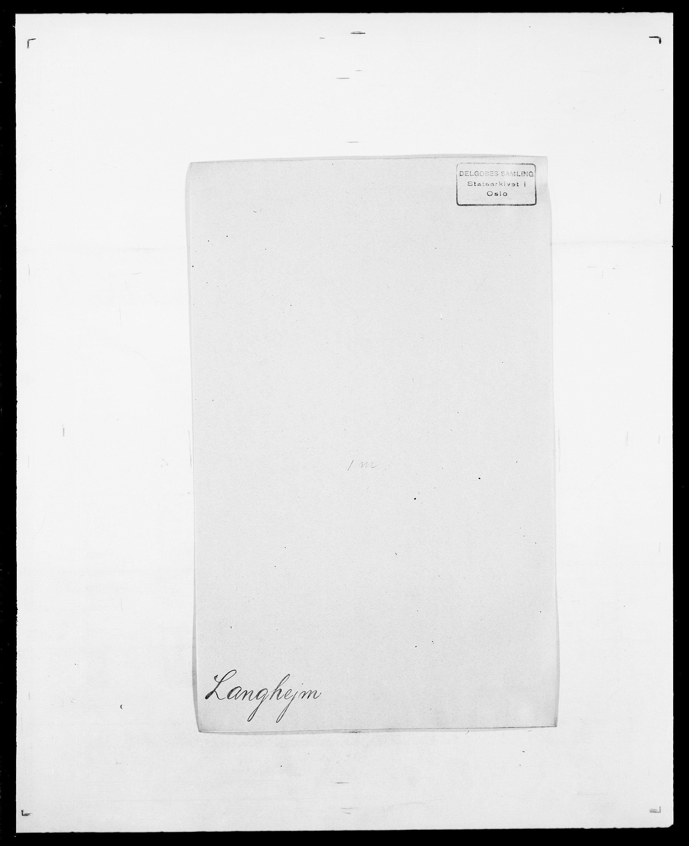 SAO, Delgobe, Charles Antoine - samling, D/Da/L0022: Krog - Lasteen, s. 697