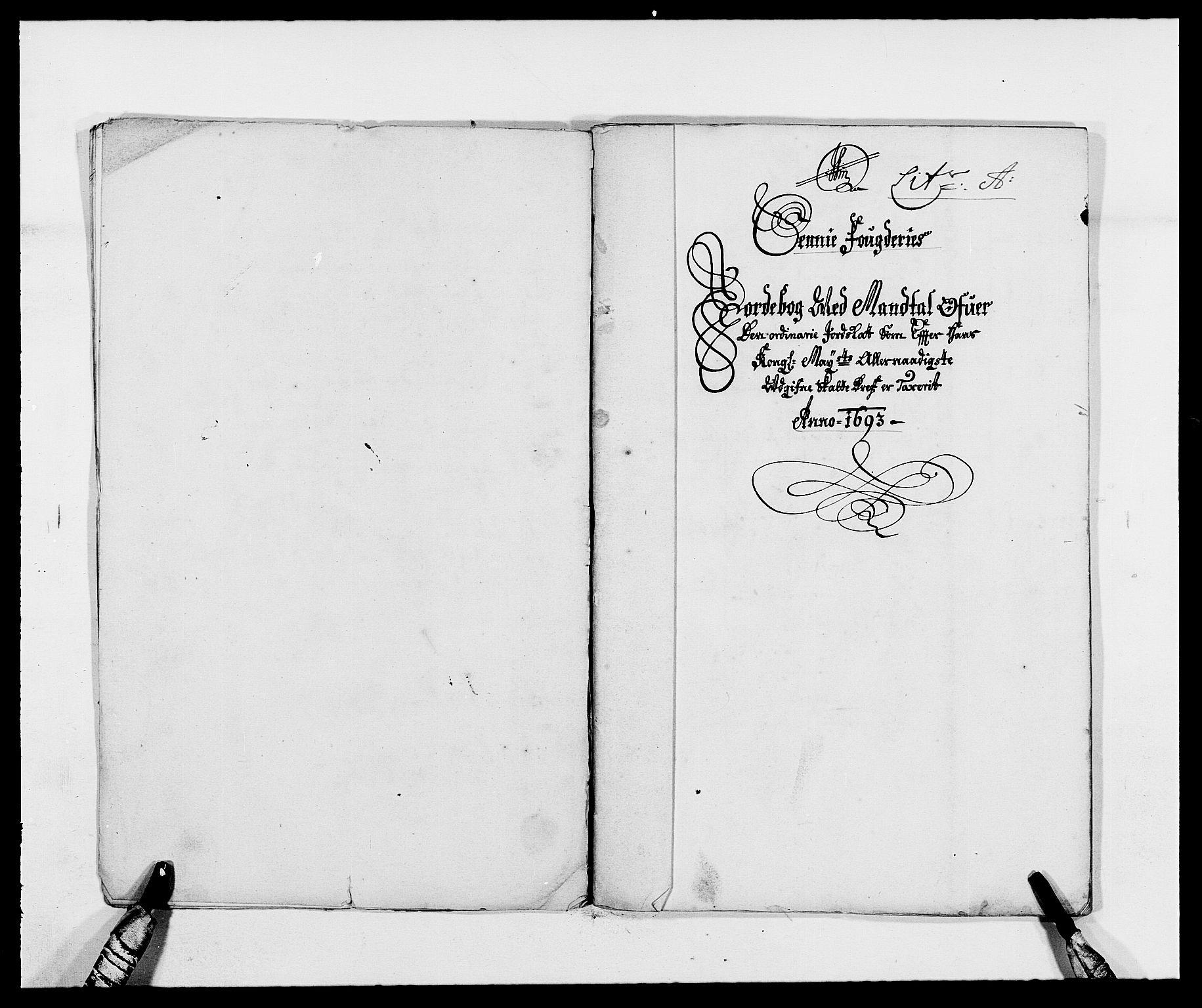 RA, Rentekammeret inntil 1814, Reviderte regnskaper, Fogderegnskap, R68/L4752: Fogderegnskap Senja og Troms, 1691-1693, s. 330