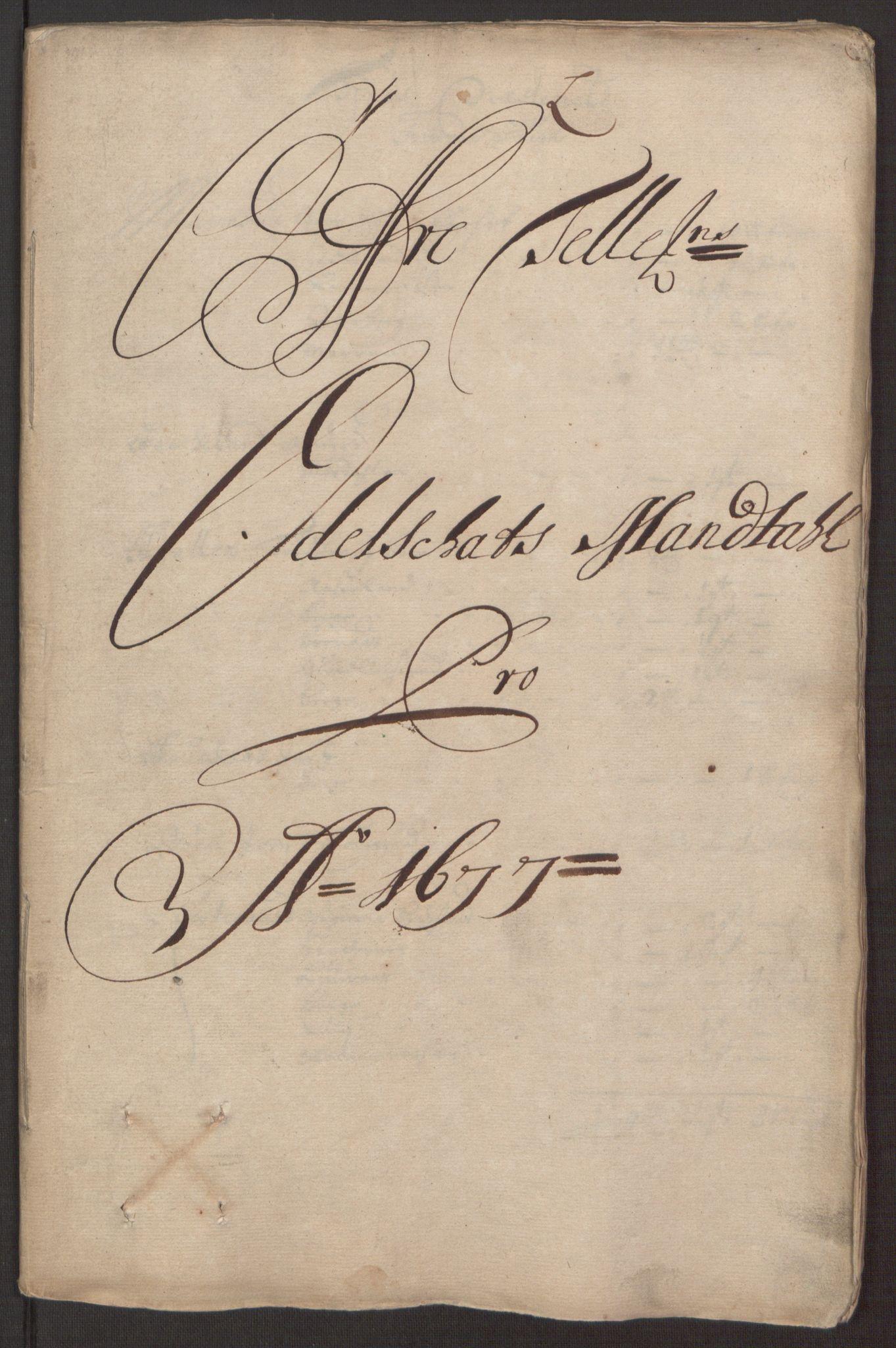 RA, Rentekammeret inntil 1814, Reviderte regnskaper, Fogderegnskap, R35/L2067: Fogderegnskap Øvre og Nedre Telemark, 1677, s. 128