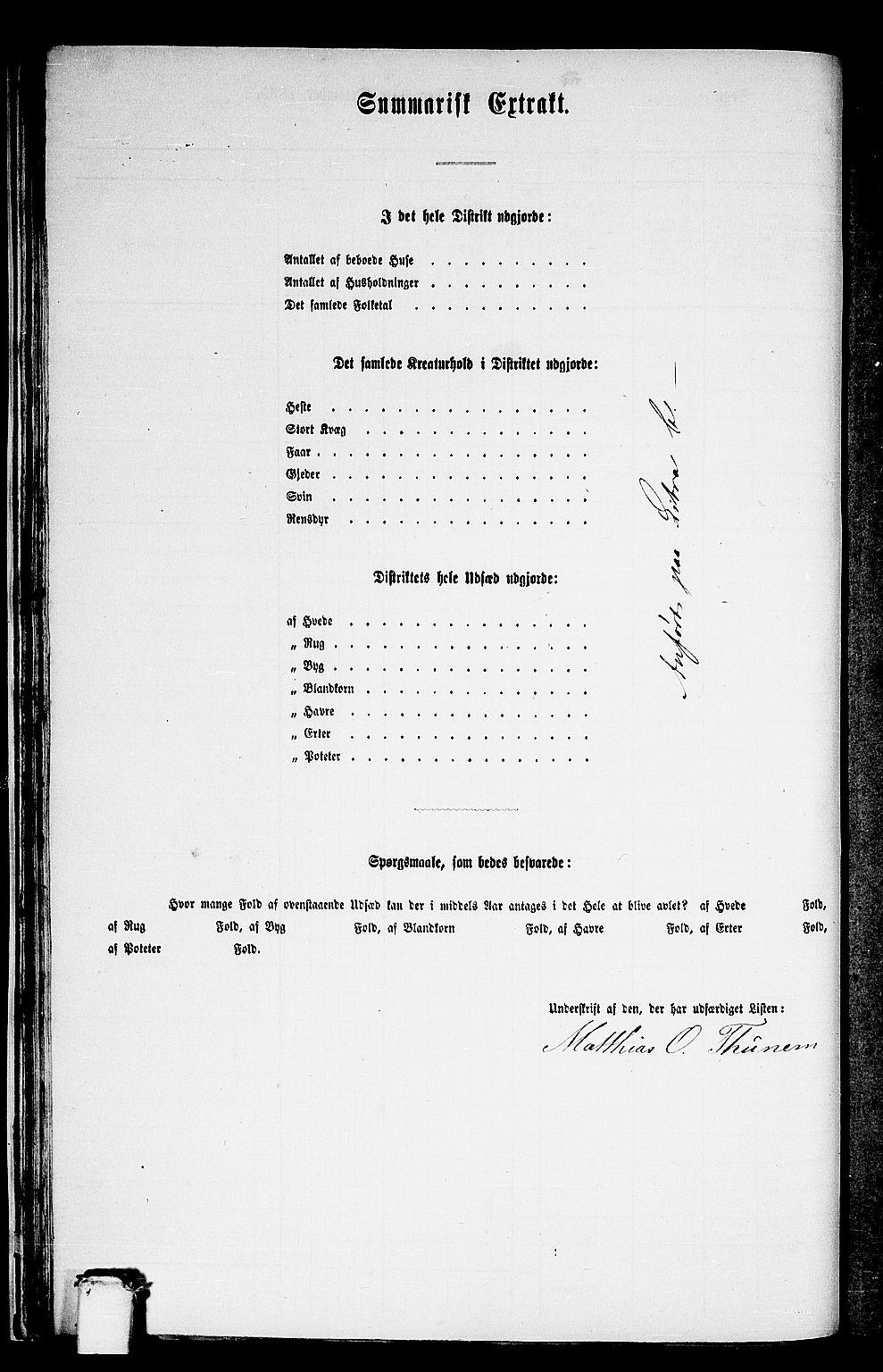 RA, Folketelling 1865 for 1511P Vanylven prestegjeld, 1865, s. 34