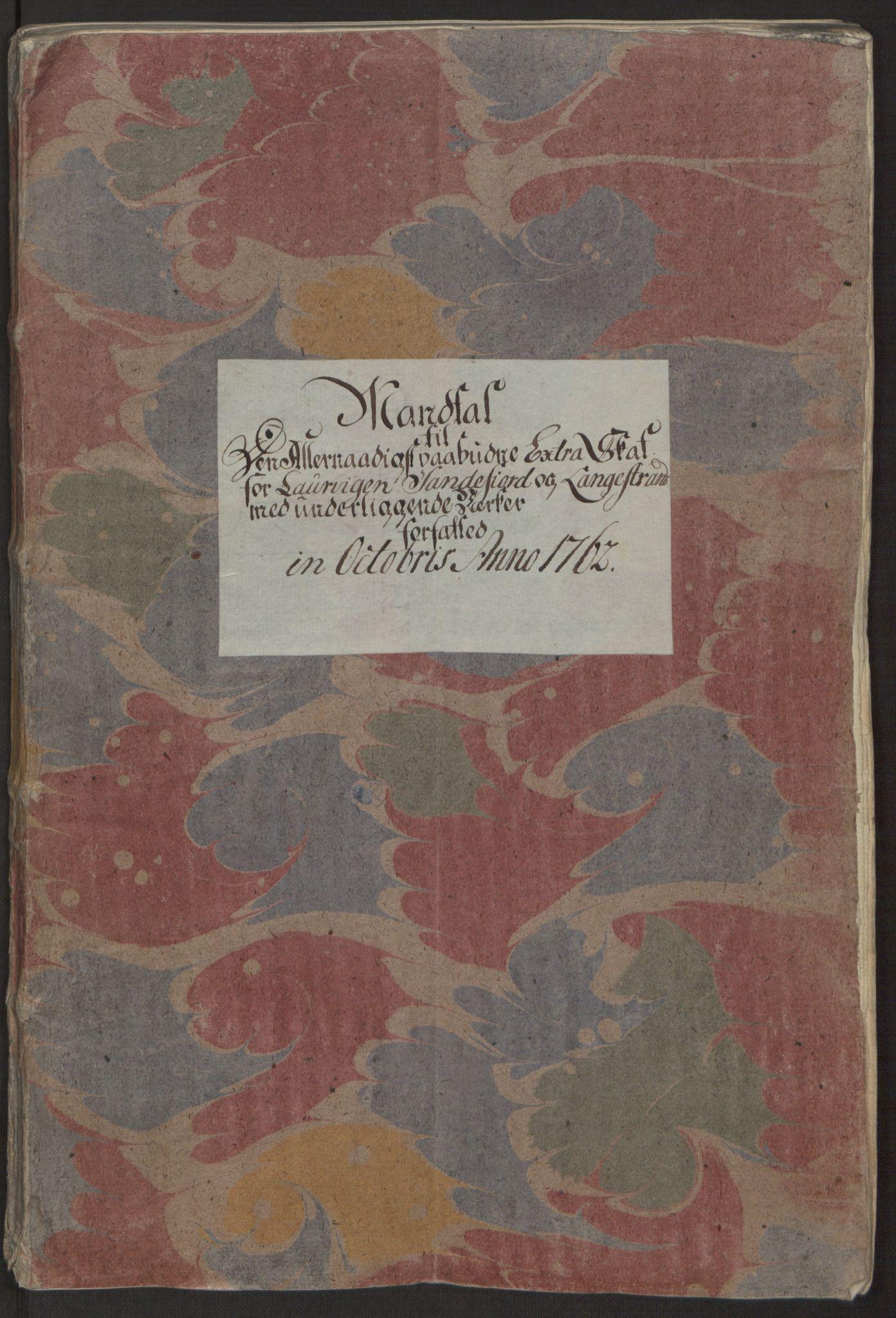 RA, Rentekammeret inntil 1814, Reviderte regnskaper, Byregnskaper, R/Ri/L0183: [I4] Kontribusjonsregnskap, 1762-1768, s. 14