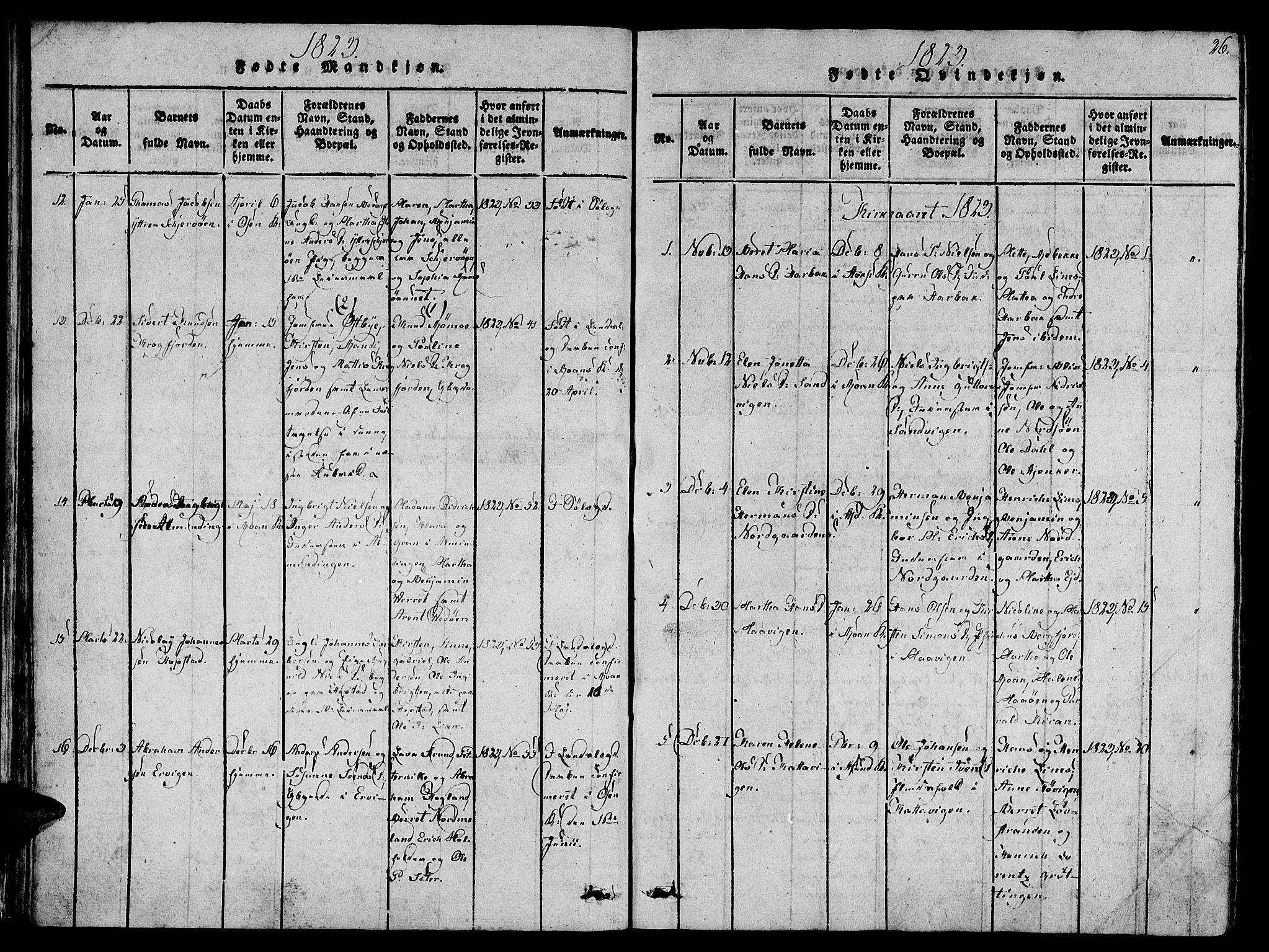SAT, Ministerialprotokoller, klokkerbøker og fødselsregistre - Sør-Trøndelag, 657/L0702: Ministerialbok nr. 657A03, 1818-1831, s. 26