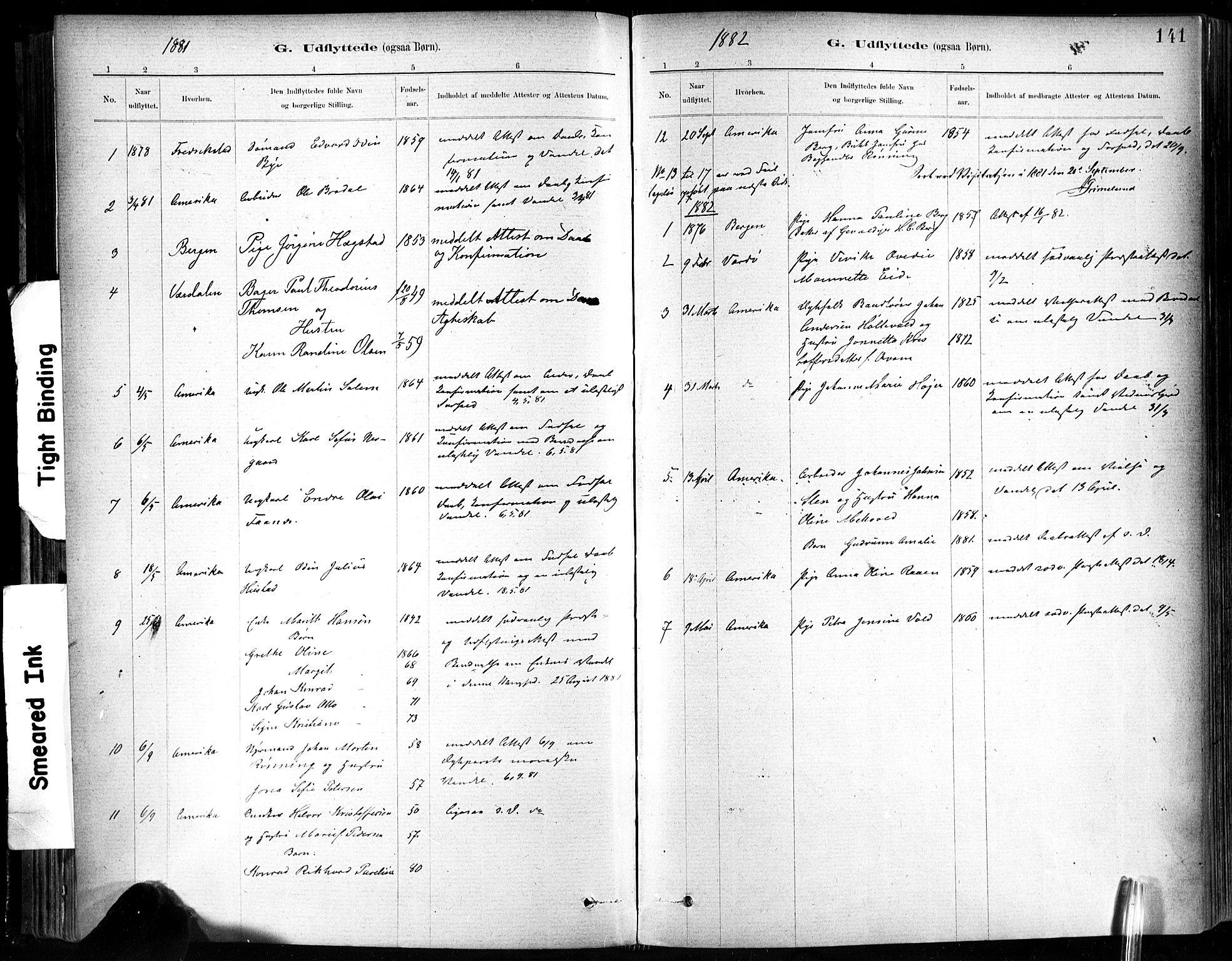 SAT, Ministerialprotokoller, klokkerbøker og fødselsregistre - Sør-Trøndelag, 602/L0120: Ministerialbok nr. 602A18, 1880-1913, s. 141