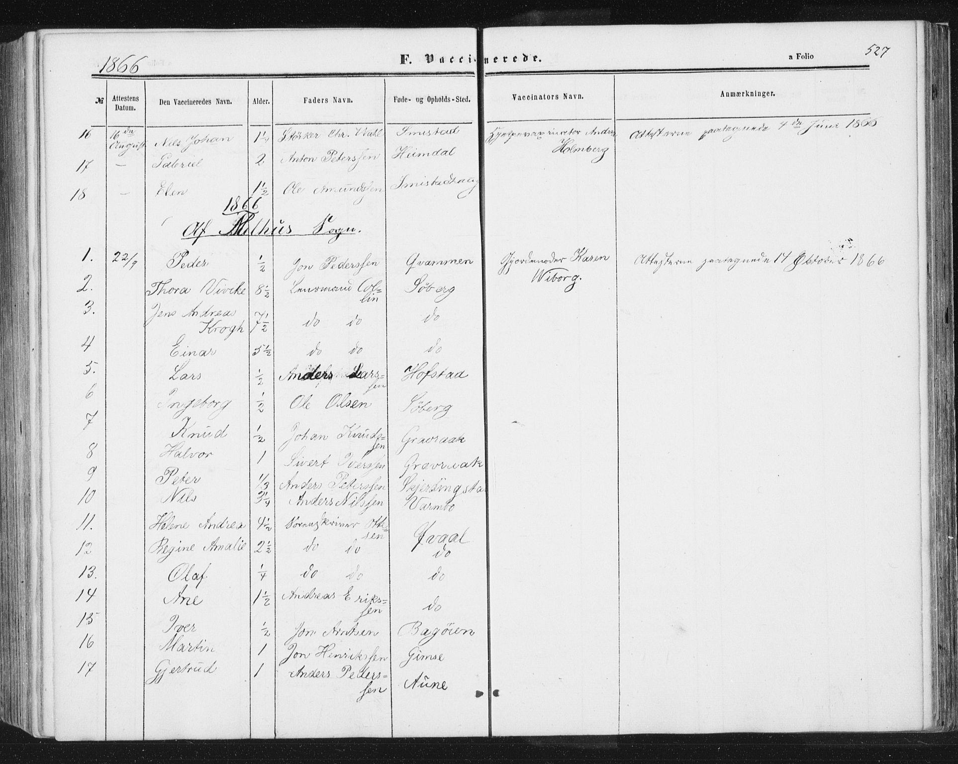 SAT, Ministerialprotokoller, klokkerbøker og fødselsregistre - Sør-Trøndelag, 691/L1077: Ministerialbok nr. 691A09, 1862-1873, s. 527