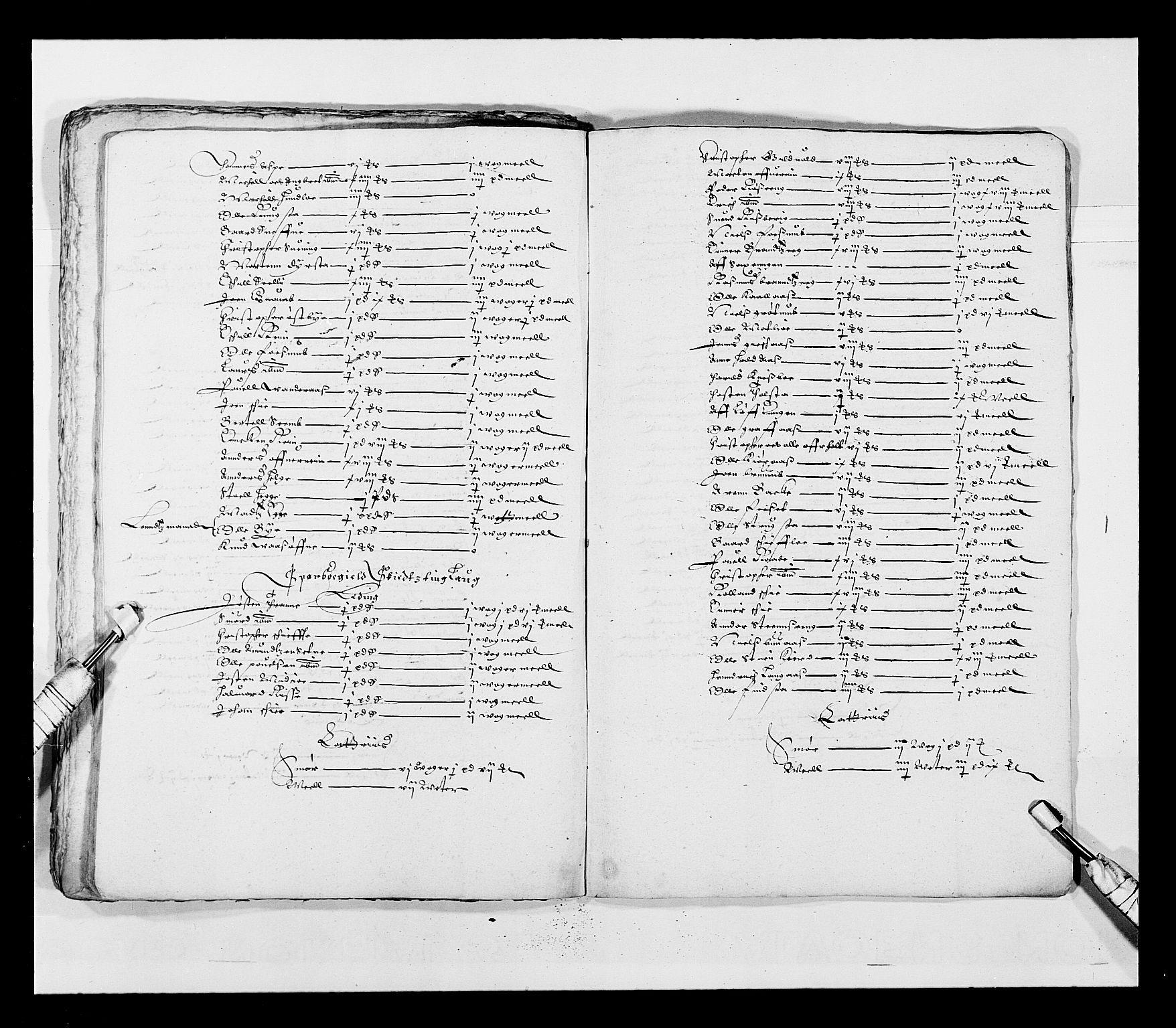 RA, Stattholderembetet 1572-1771, Ek/L0028: Jordebøker 1633-1658:, 1645-1646, s. 115