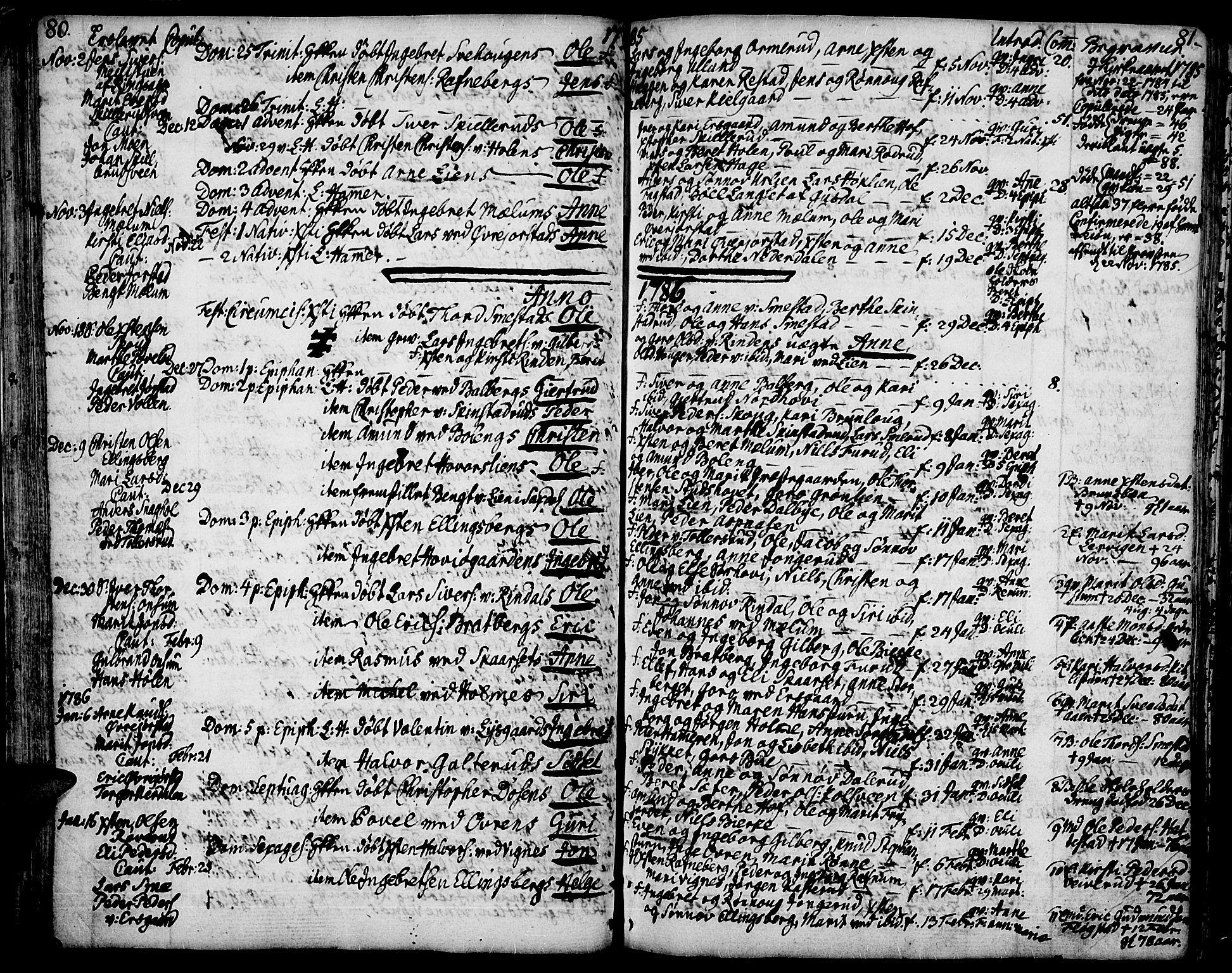 SAH, Fåberg prestekontor, Ministerialbok nr. 2, 1775-1818, s. 80-81
