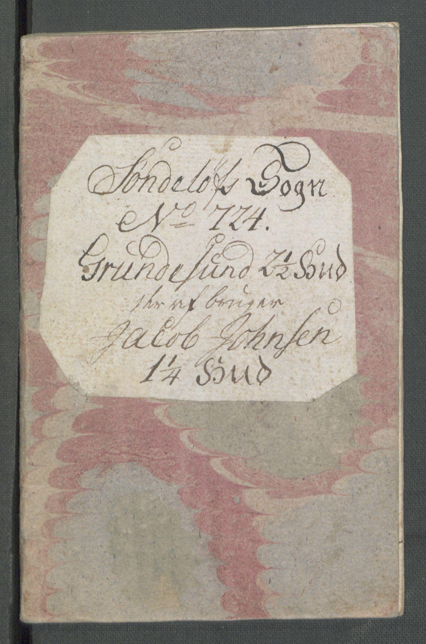 RA, Rentekammeret inntil 1814, Realistisk ordnet avdeling, Od/L0001: Oppløp, 1786-1769, s. 150