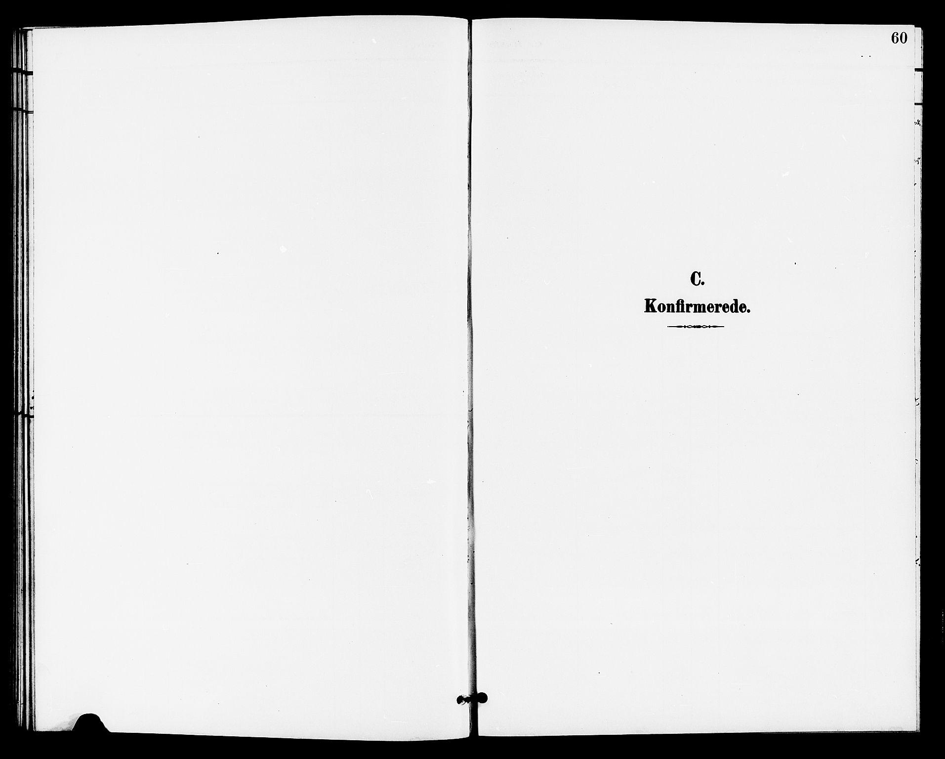 SAKO, Bø kirkebøker, G/Ga/L0006: Klokkerbok nr. 6, 1898-1909, s. 60