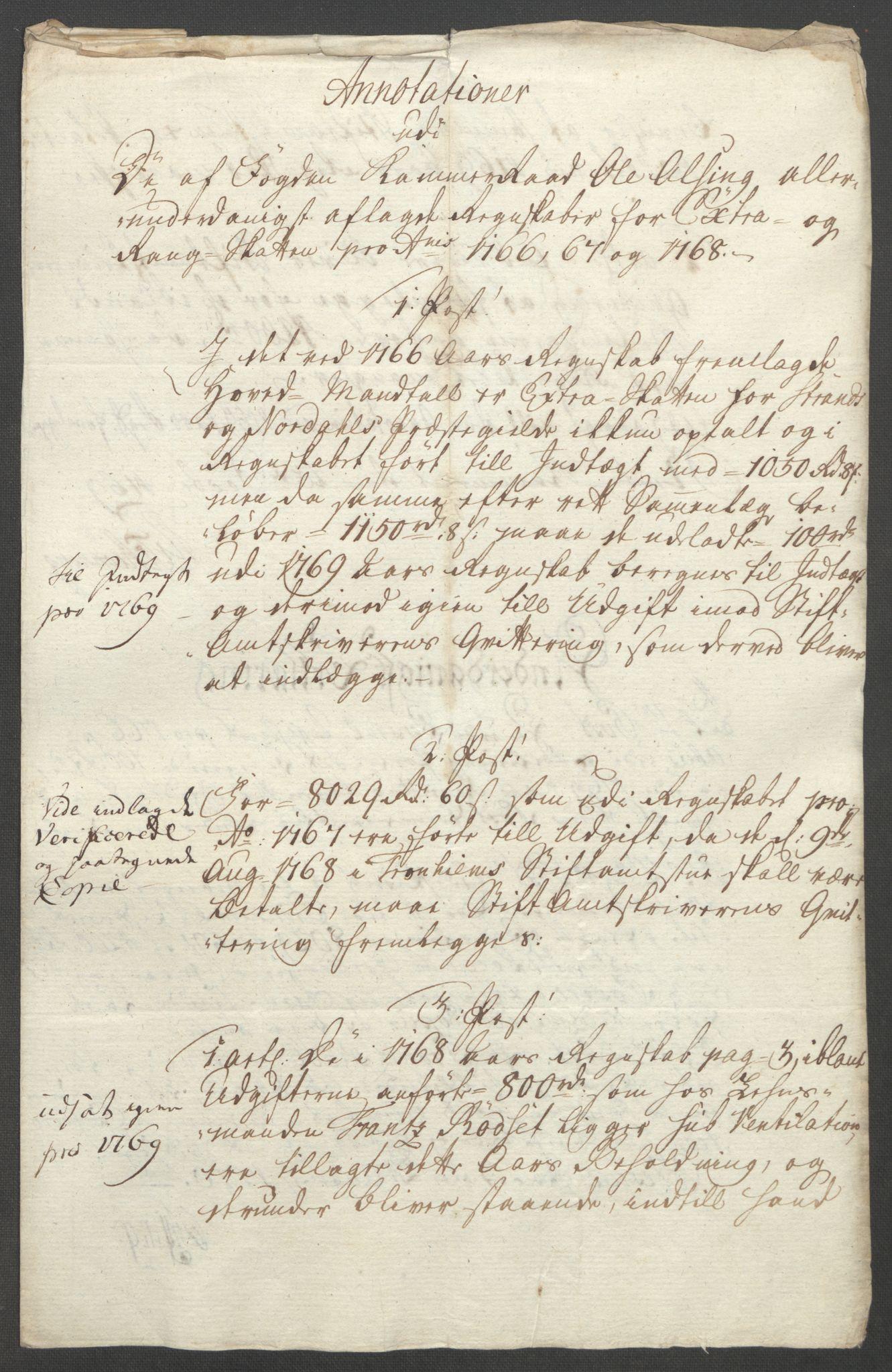 RA, Rentekammeret inntil 1814, Reviderte regnskaper, Fogderegnskap, R54/L3645: Ekstraskatten Sunnmøre, 1762-1772, s. 154