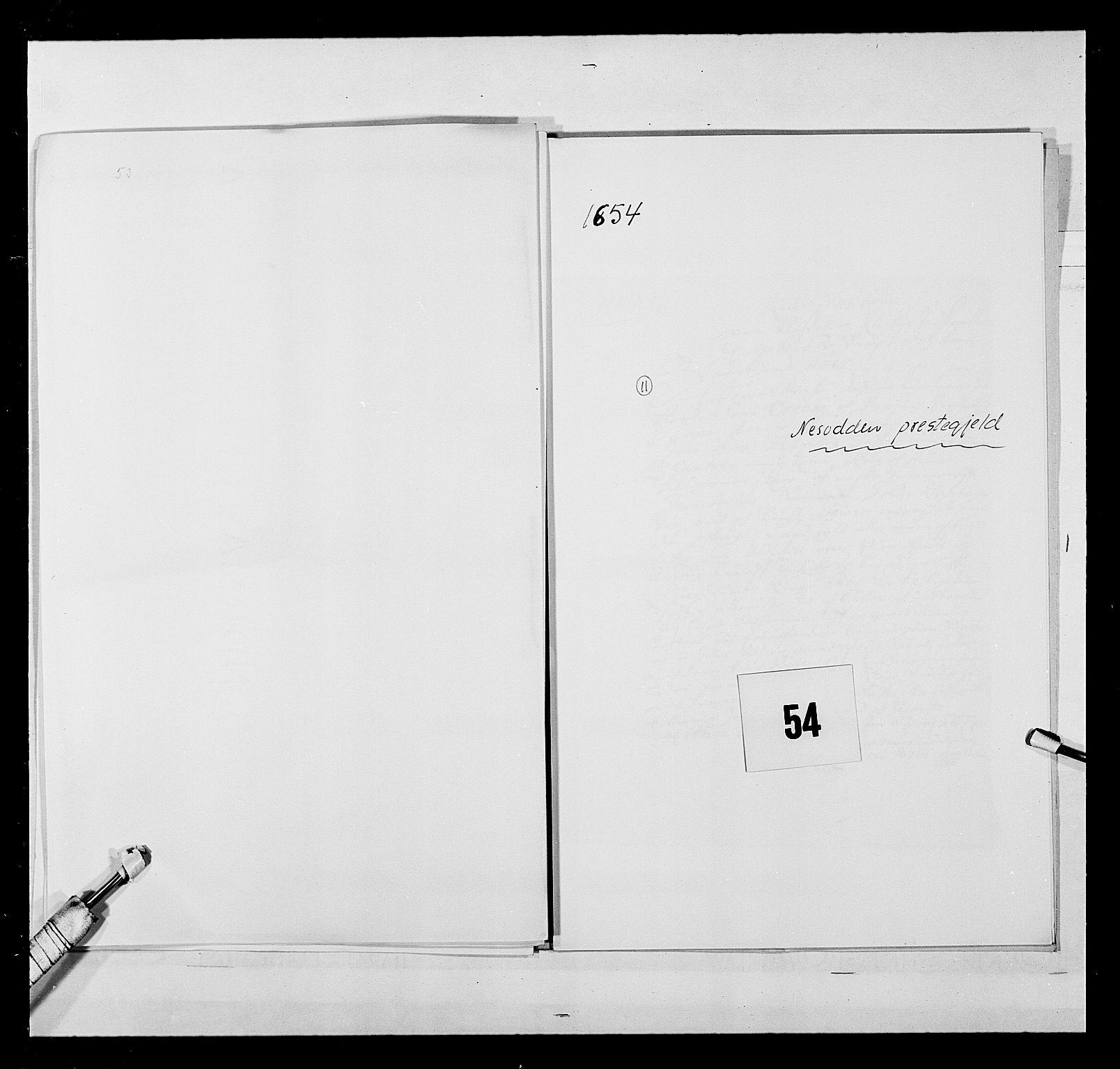 RA, Stattholderembetet 1572-1771, Ek/L0030: Jordebøker 1633-1658:, 1654, s. 258