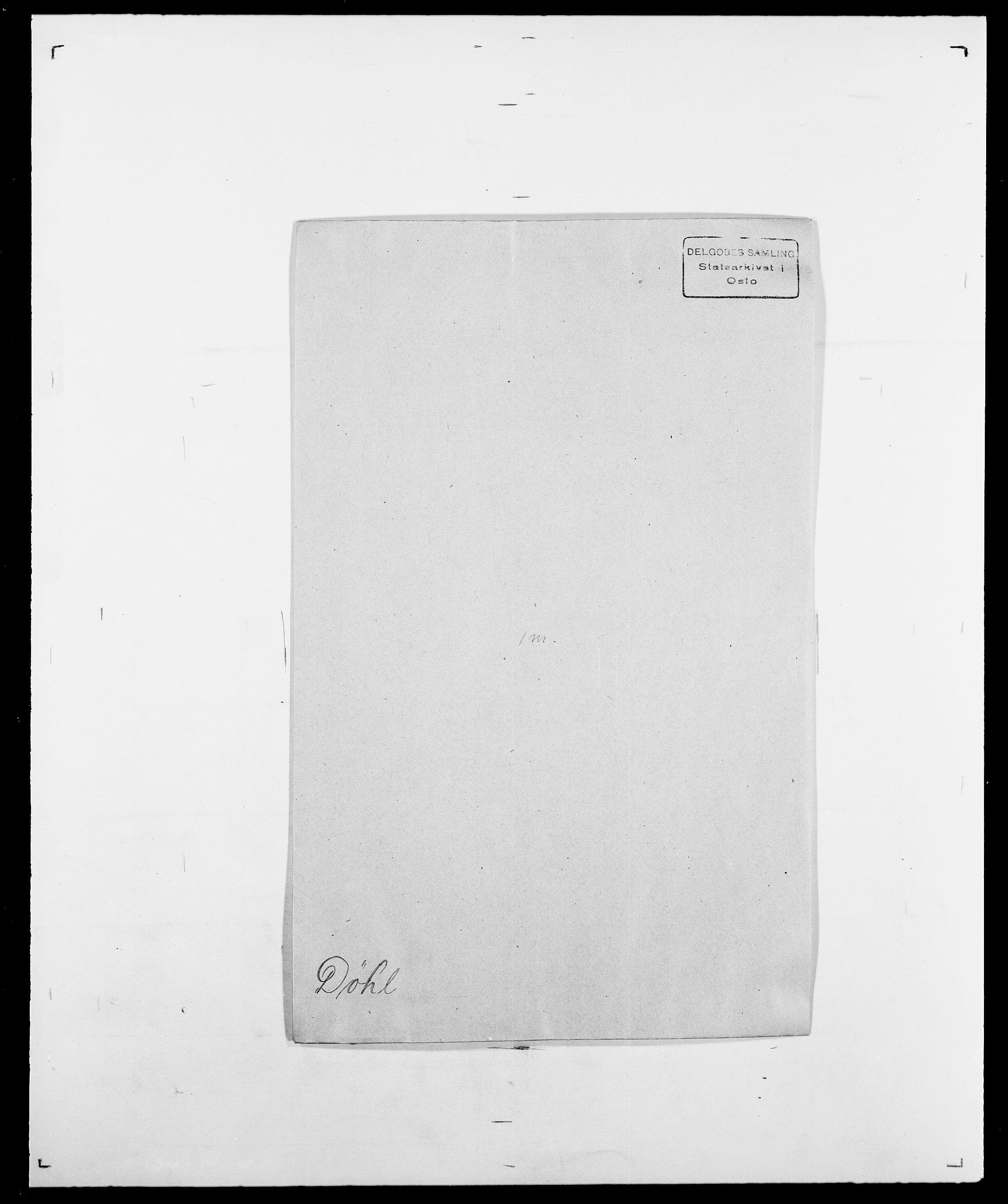 SAO, Delgobe, Charles Antoine - samling, D/Da/L0010: Dürendahl - Fagelund, s. 45