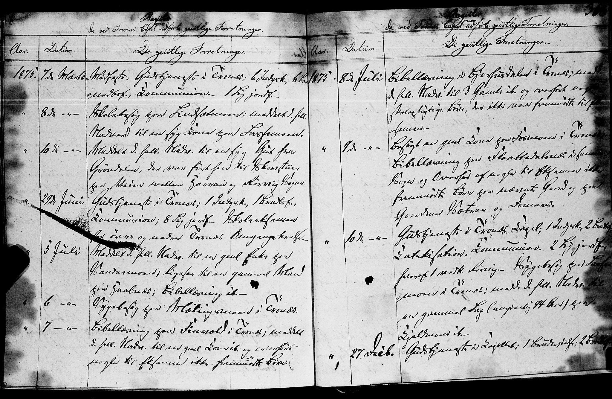 SAT, Ministerialprotokoller, klokkerbøker og fødselsregistre - Nord-Trøndelag, 762/L0538: Ministerialbok nr. 762A02 /2, 1833-1879, s. 368