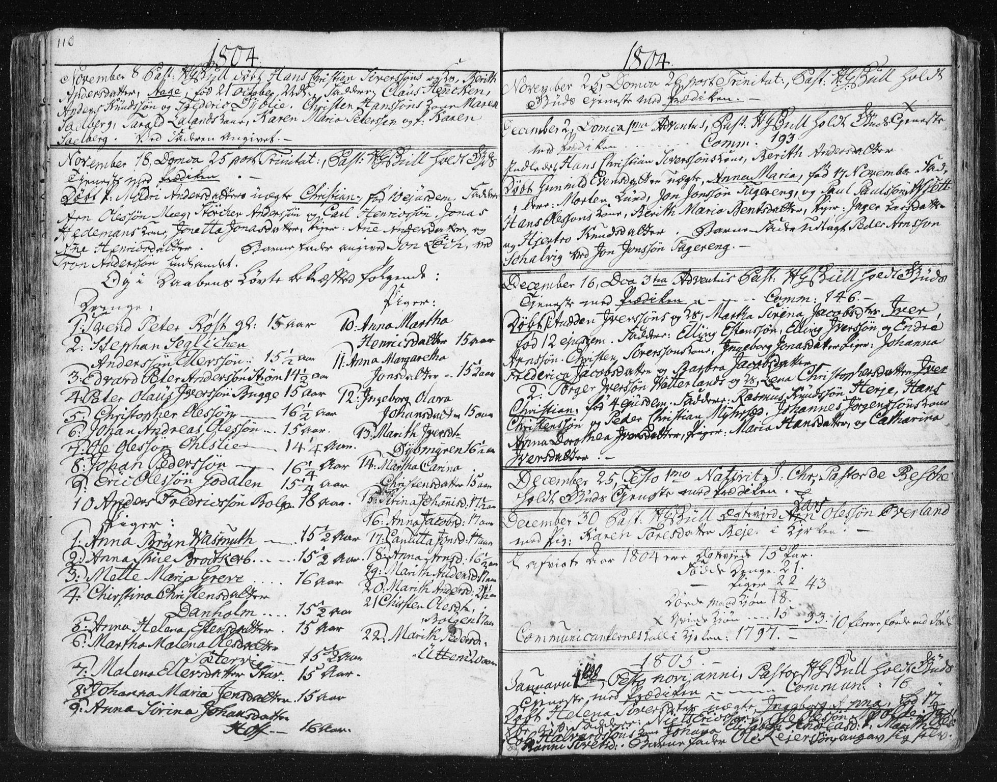 SAT, Ministerialprotokoller, klokkerbøker og fødselsregistre - Møre og Romsdal, 572/L0841: Ministerialbok nr. 572A04, 1784-1819, s. 110