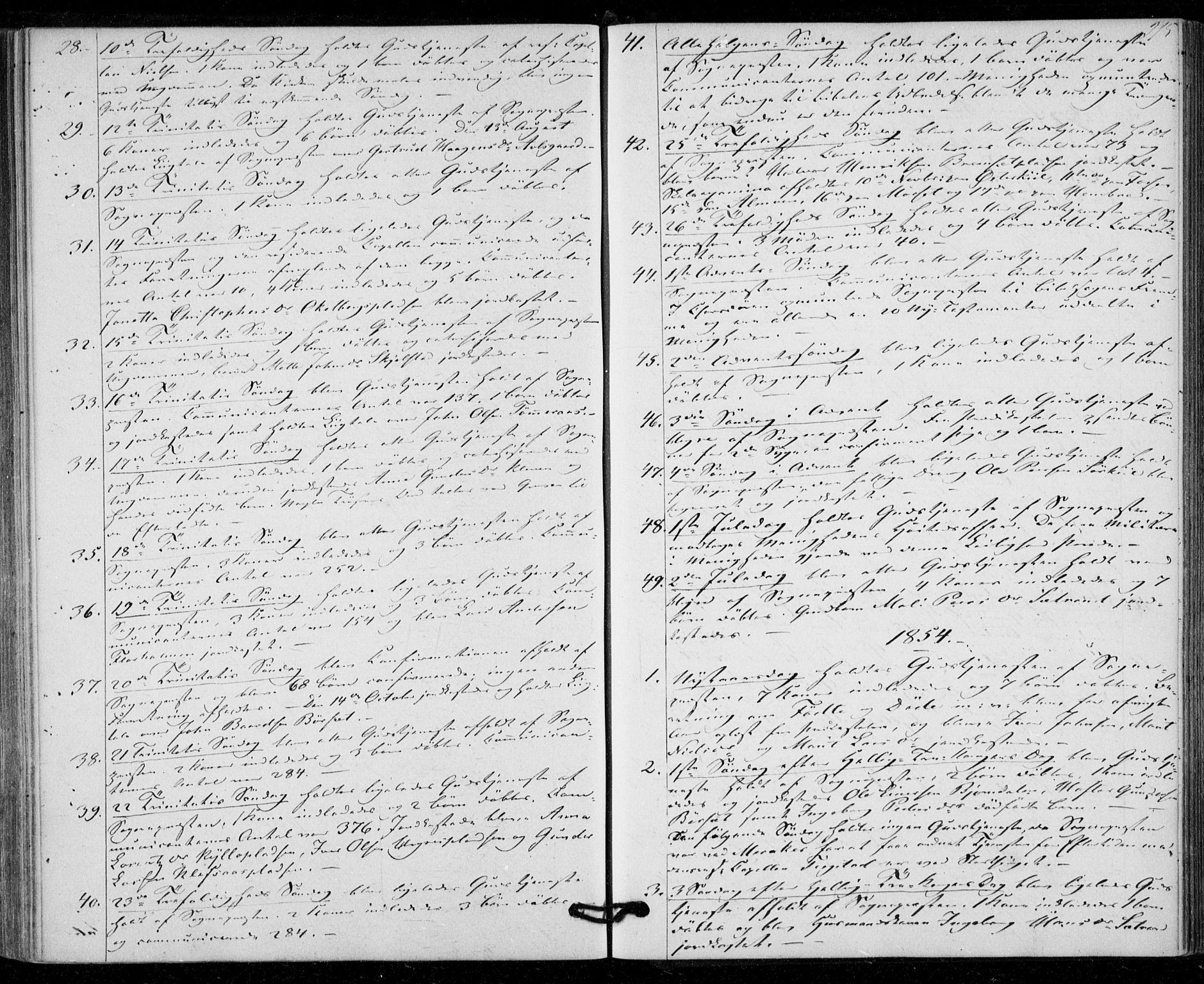 SAT, Ministerialprotokoller, klokkerbøker og fødselsregistre - Nord-Trøndelag, 703/L0028: Ministerialbok nr. 703A01, 1850-1862, s. 215