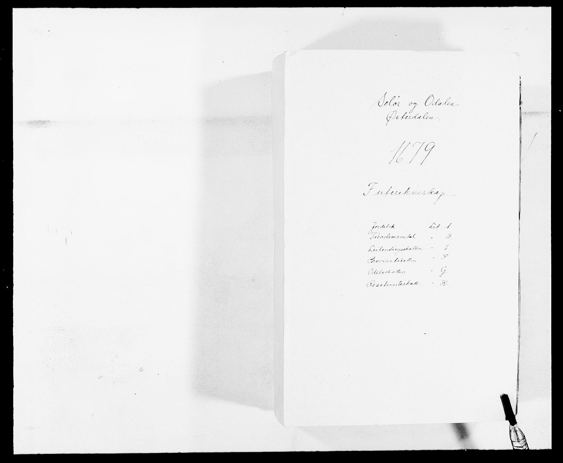 RA, Rentekammeret inntil 1814, Reviderte regnskaper, Fogderegnskap, R13/L0816: Fogderegnskap Solør, Odal og Østerdal, 1679, s. 1