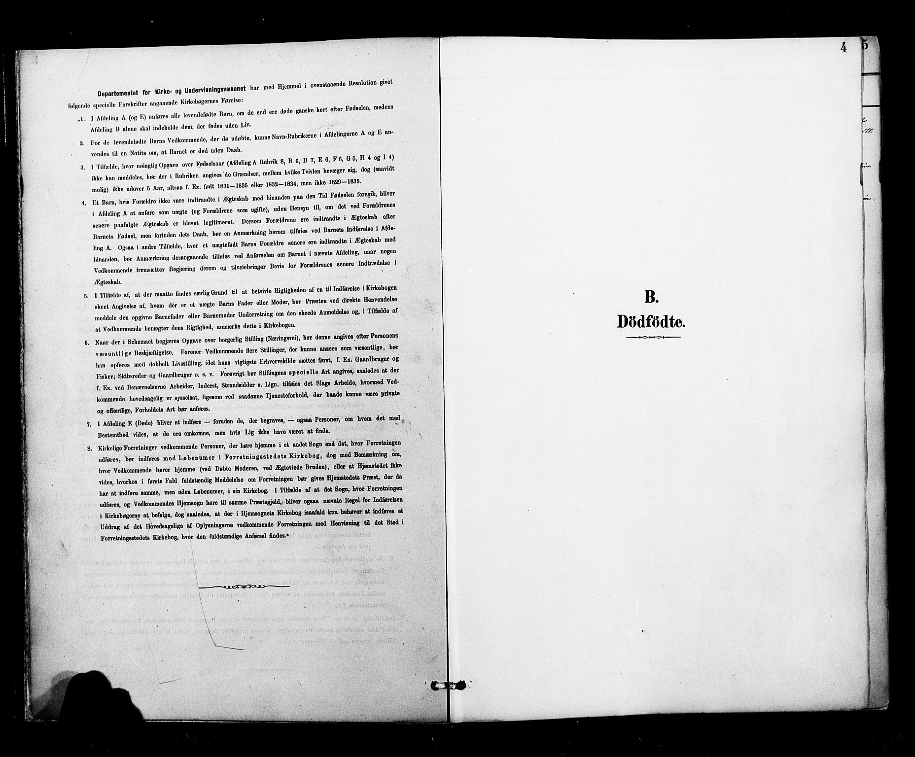 SAT, Ministerialprotokoller, klokkerbøker og fødselsregistre - Nordland, 827/L0401: Ministerialbok nr. 827A13, 1887-1905, s. 4