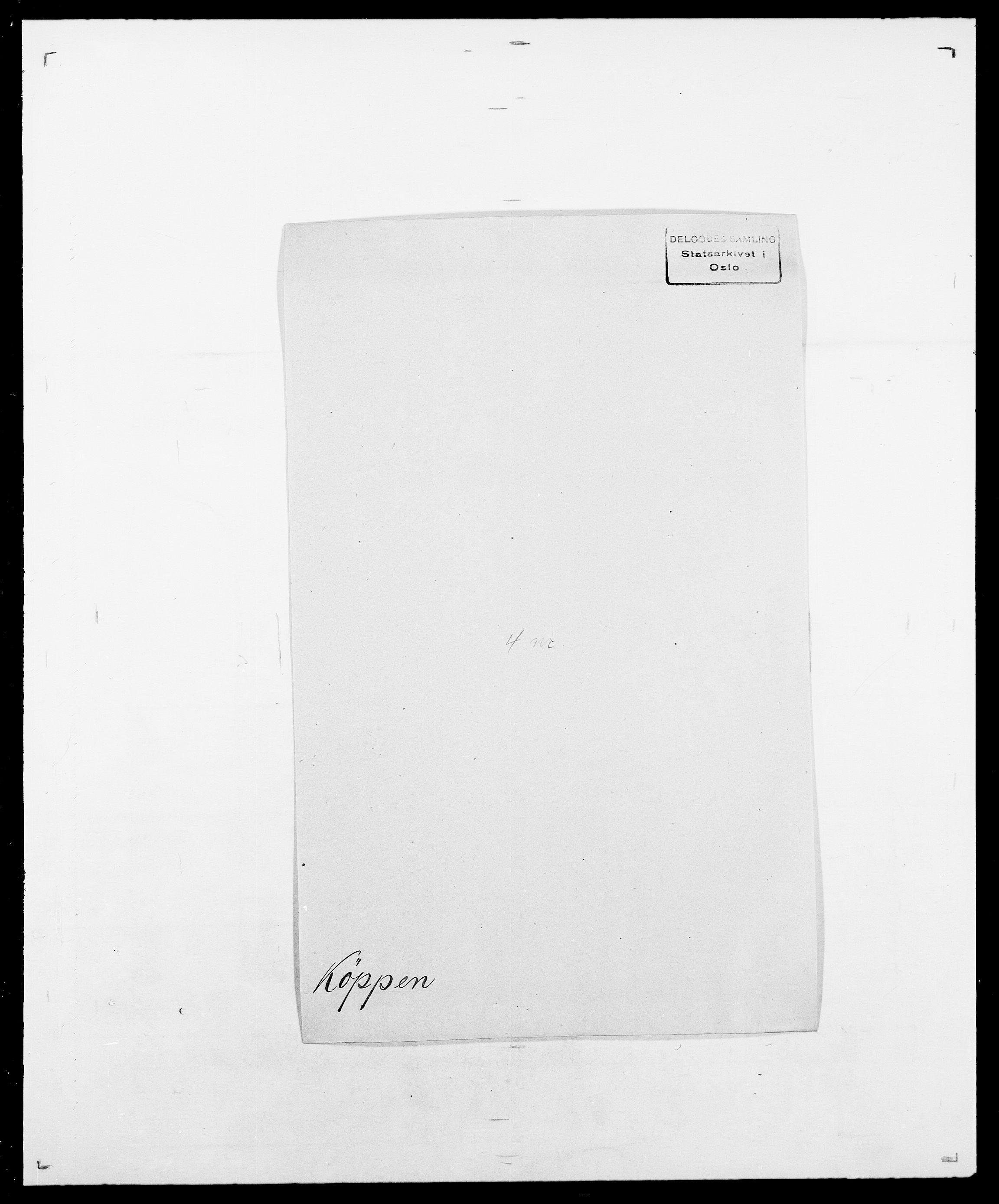 SAO, Delgobe, Charles Antoine - samling, D/Da/L0022: Krog - Lasteen, s. 329