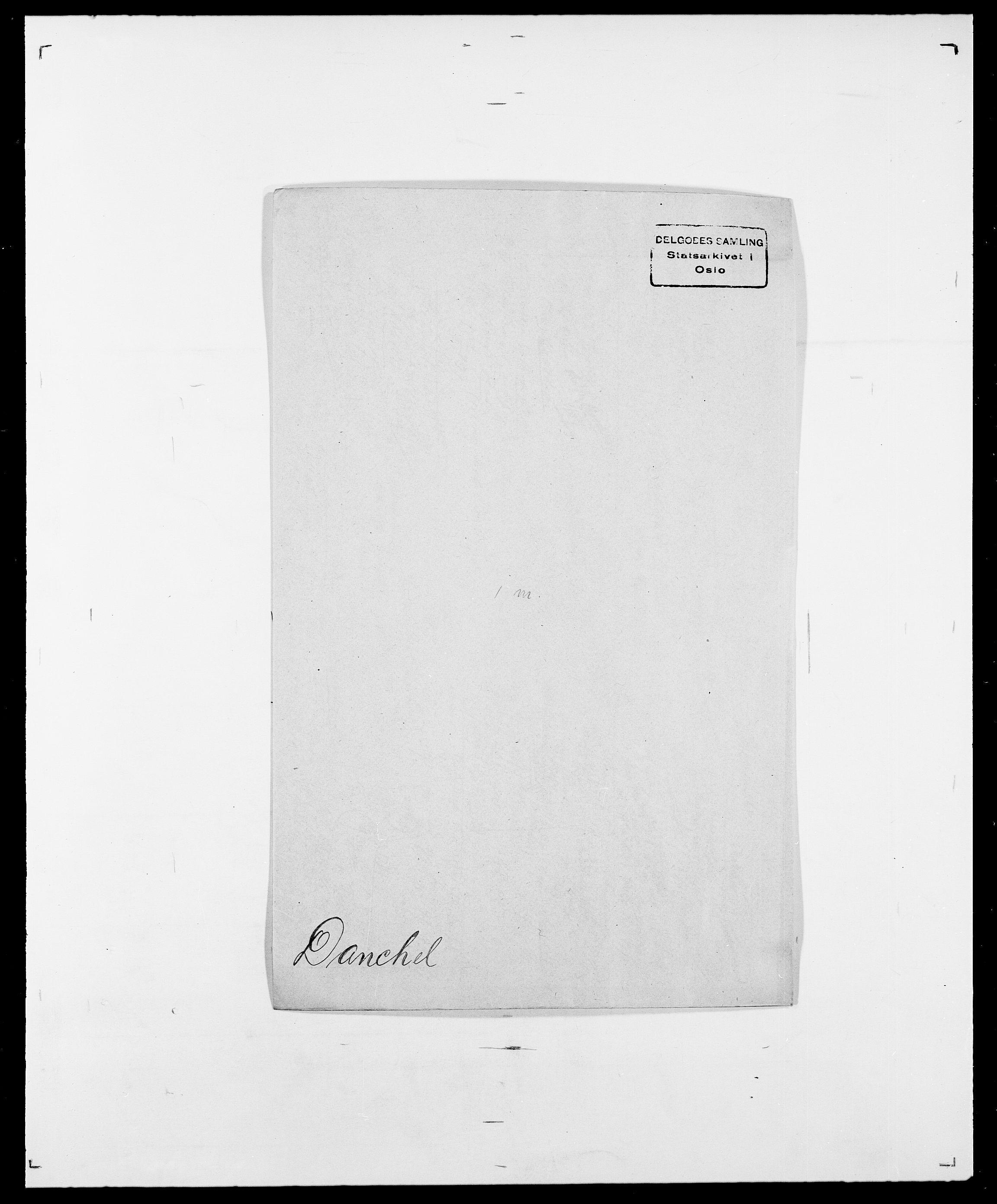 SAO, Delgobe, Charles Antoine - samling, D/Da/L0009: Dahl - v. Düren, s. 290