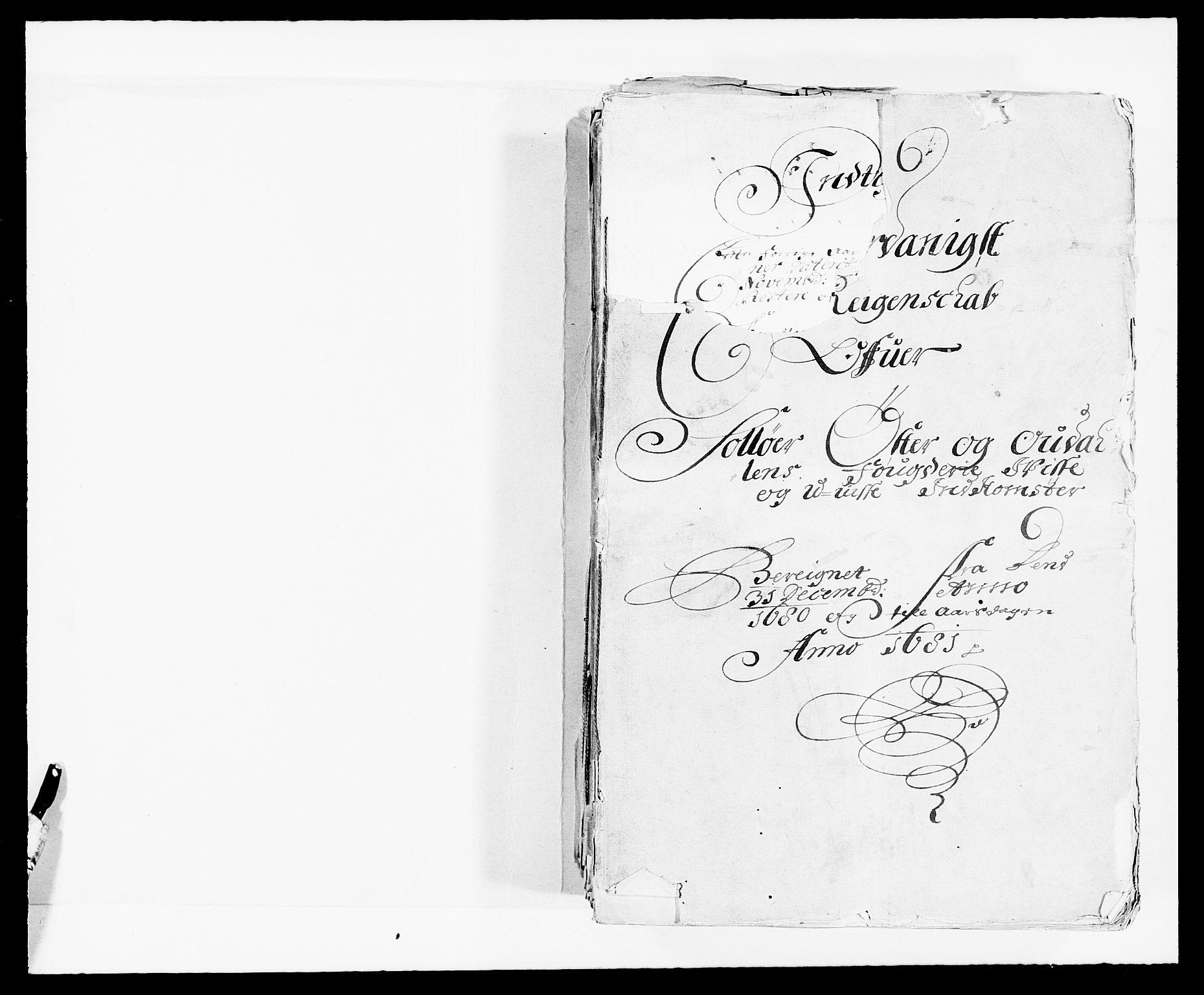 RA, Rentekammeret inntil 1814, Reviderte regnskaper, Fogderegnskap, R13/L0818: Fogderegnskap Solør, Odal og Østerdal, 1681, s. 13