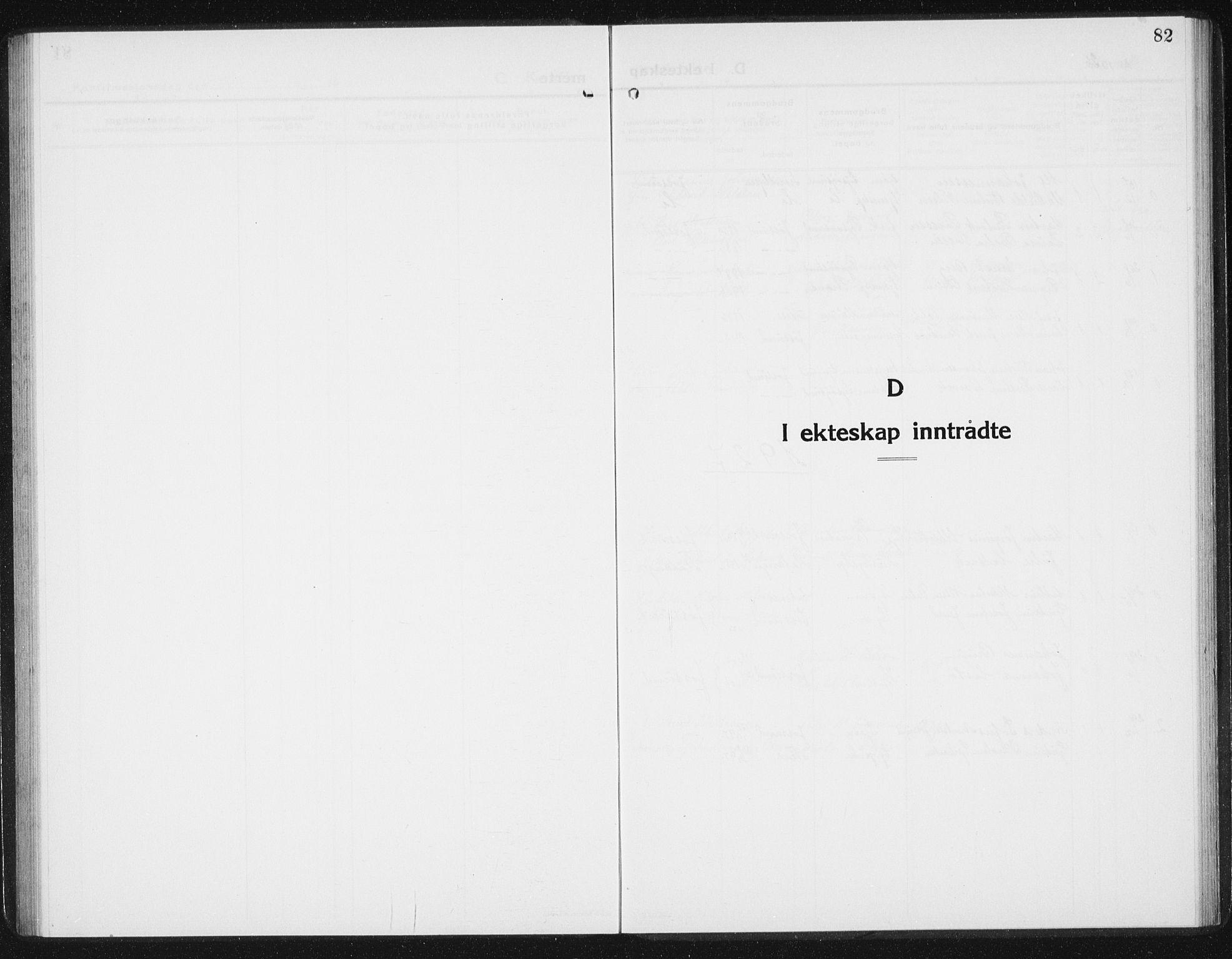 SAT, Ministerialprotokoller, klokkerbøker og fødselsregistre - Sør-Trøndelag, 654/L0667: Klokkerbok nr. 654C03, 1924-1939, s. 82