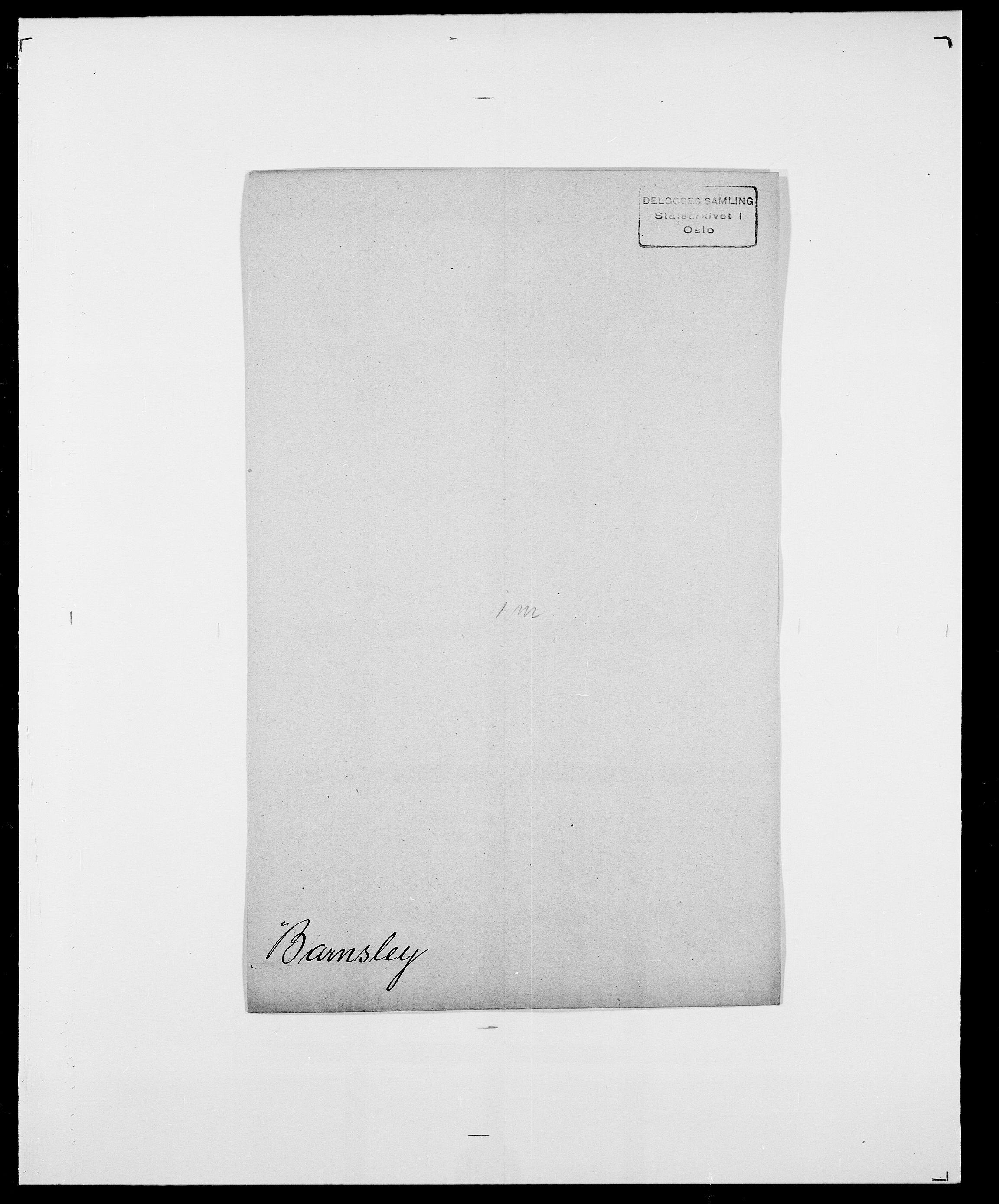 SAO, Delgobe, Charles Antoine - samling, D/Da/L0003: Barca - Bergen, s. 361