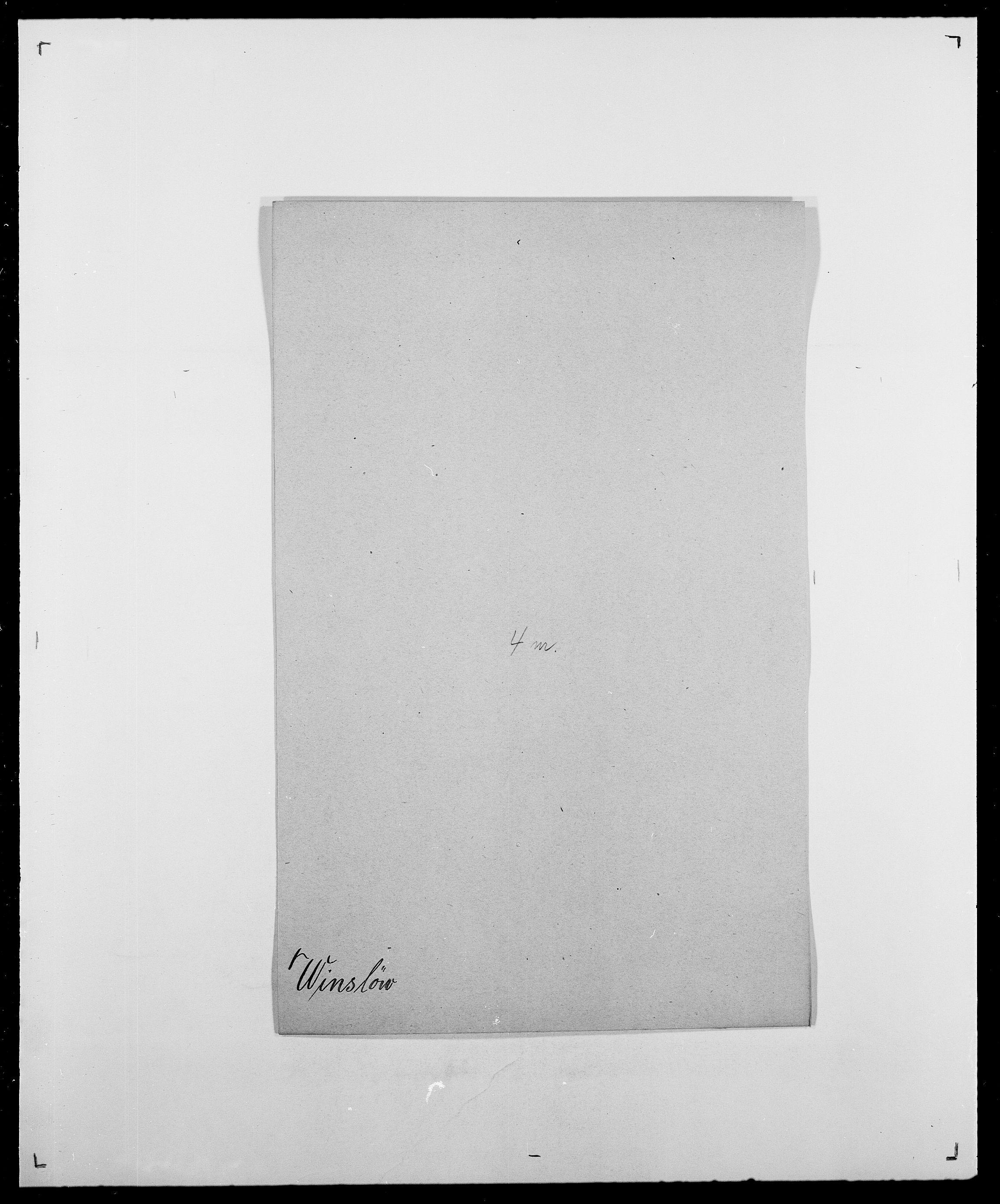 SAO, Delgobe, Charles Antoine - samling, D/Da/L0042: Vilain - Wulf, Wulff, se også Wolf, s. 263
