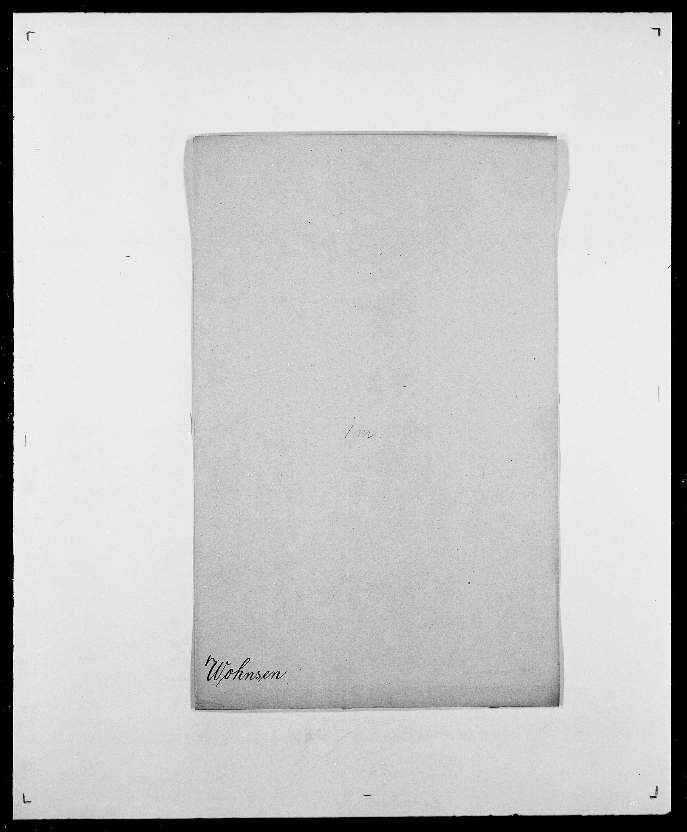SAO, Delgobe, Charles Antoine - samling, D/Da/L0042: Vilain - Wulf, Wulff, se også Wolf, s. 570