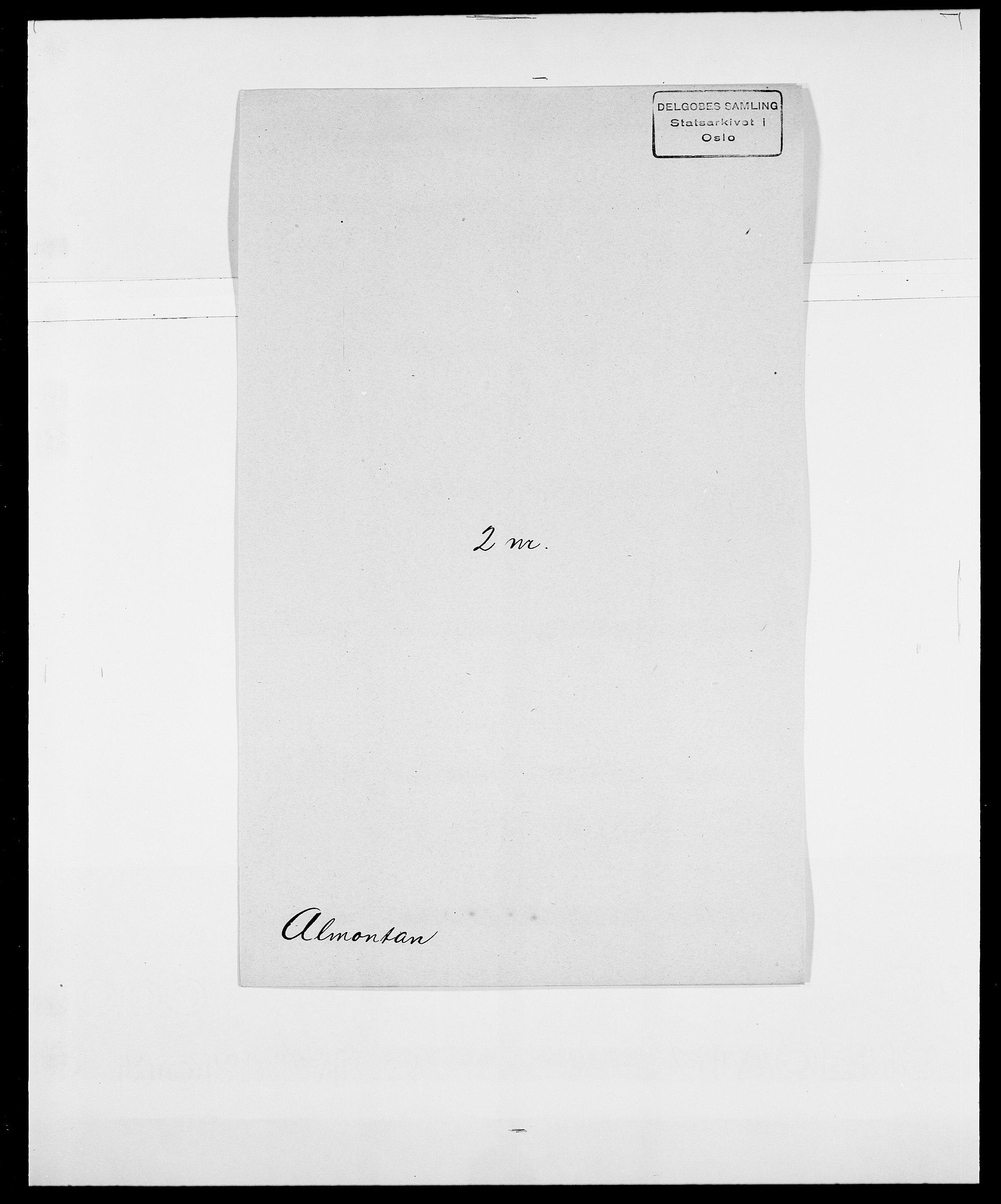 SAO, Delgobe, Charles Antoine - samling, D/Da/L0001: Aabye - Angerman, s. 444