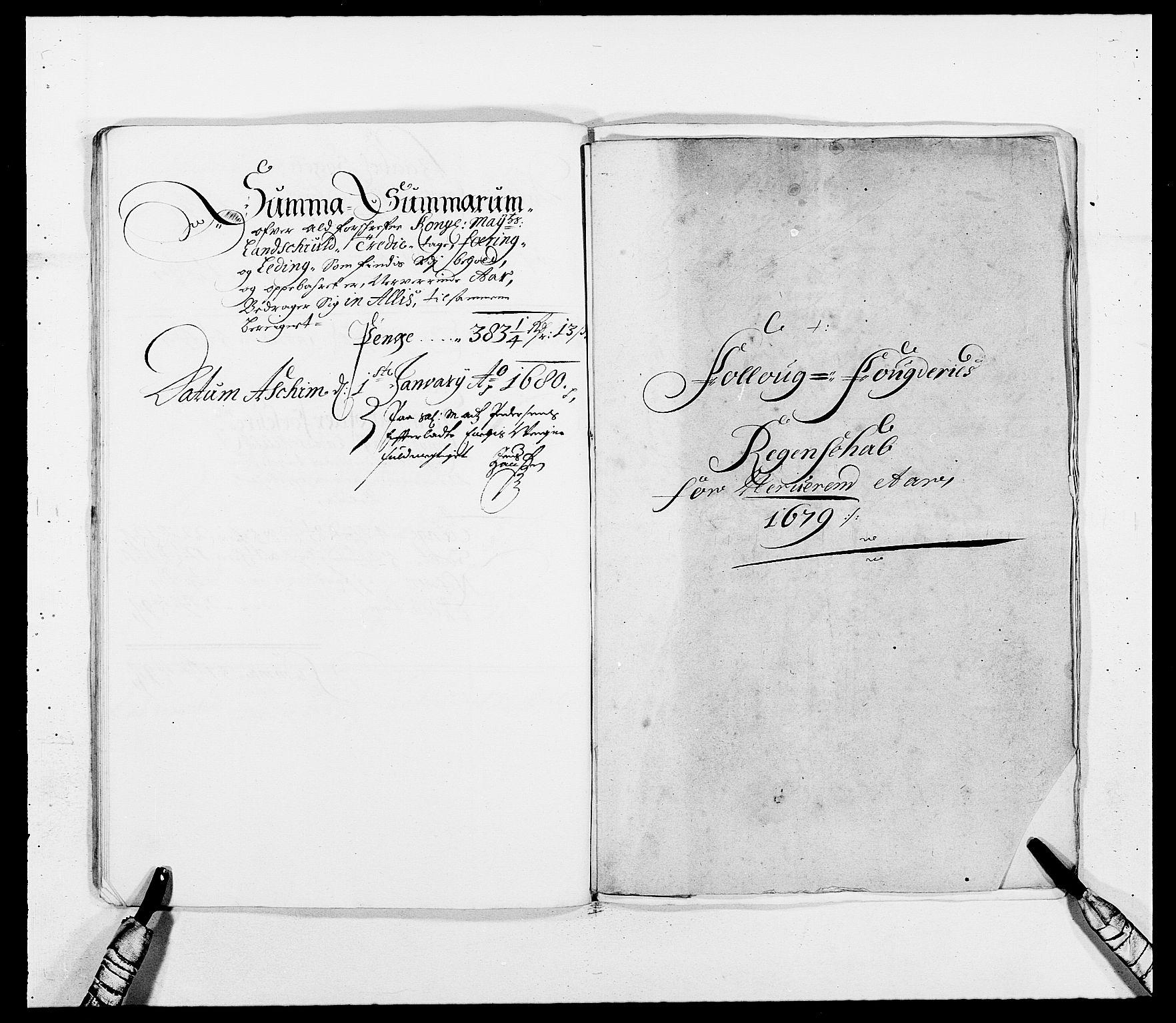 RA, Rentekammeret inntil 1814, Reviderte regnskaper, Fogderegnskap, R09/L0428: Fogderegnskap Follo, 1679, s. 35