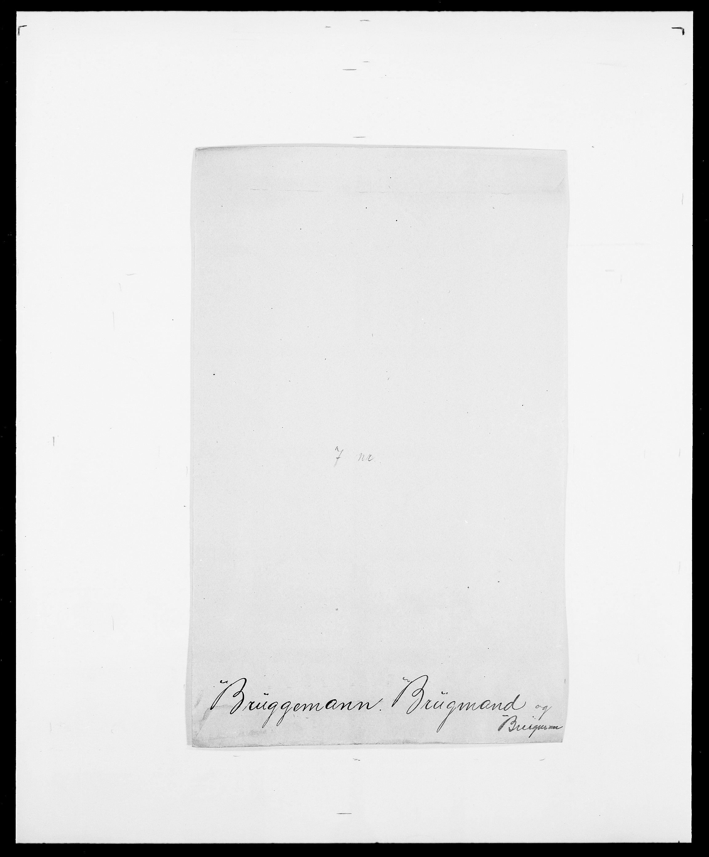 SAO, Delgobe, Charles Antoine - samling, D/Da/L0006: Brambani - Brønø, s. 627
