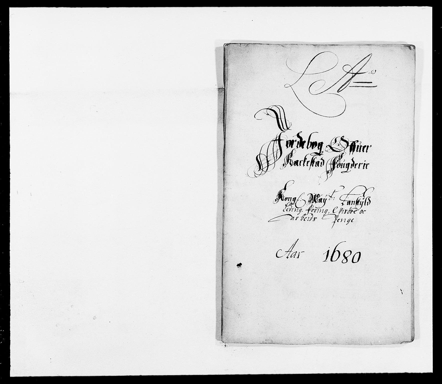 RA, Rentekammeret inntil 1814, Reviderte regnskaper, Fogderegnskap, R05/L0272: Fogderegnskap Rakkestad, 1680-1681, s. 35